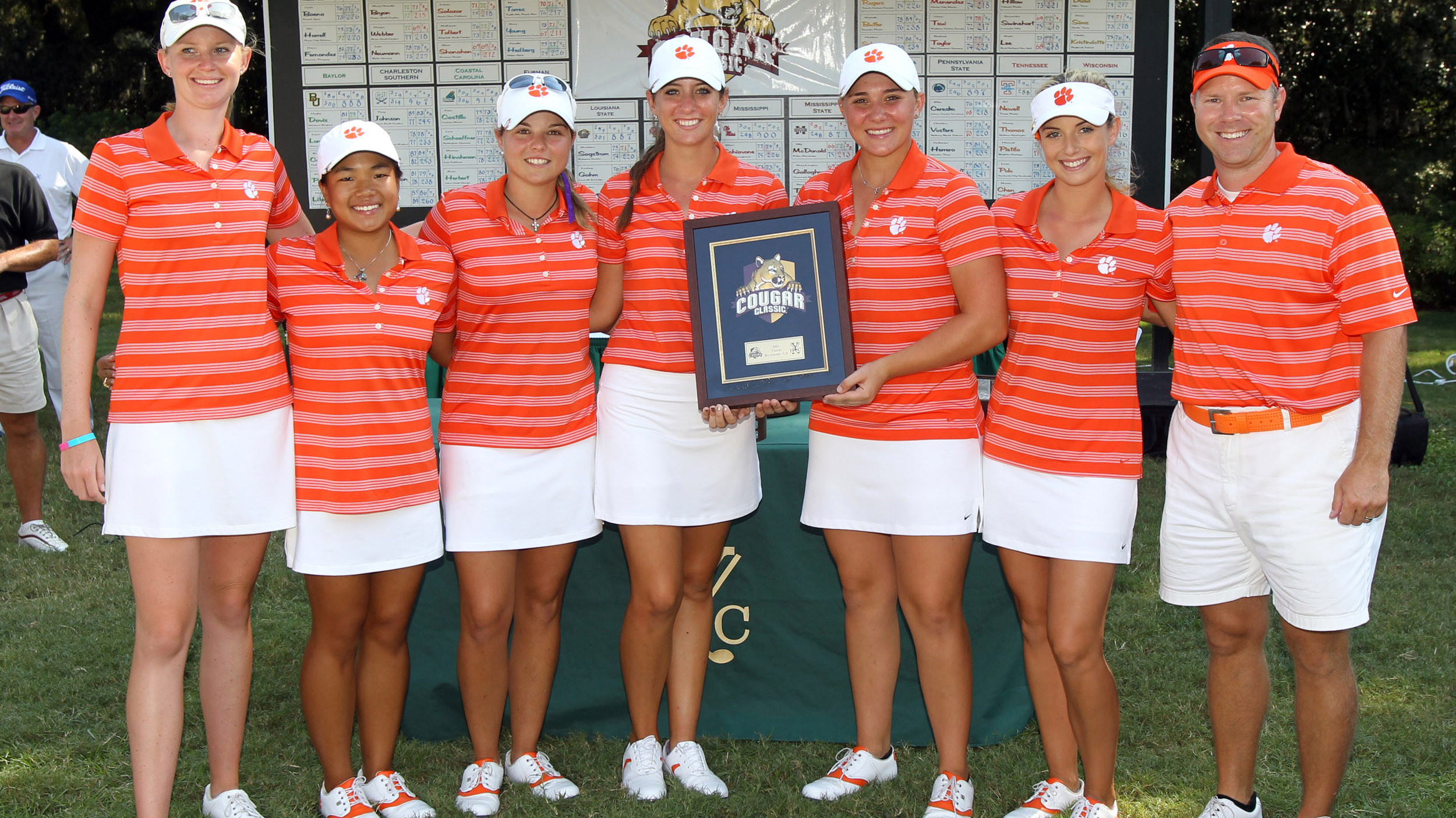 Clemson Finishes Second at Cougar Classic by One Shot