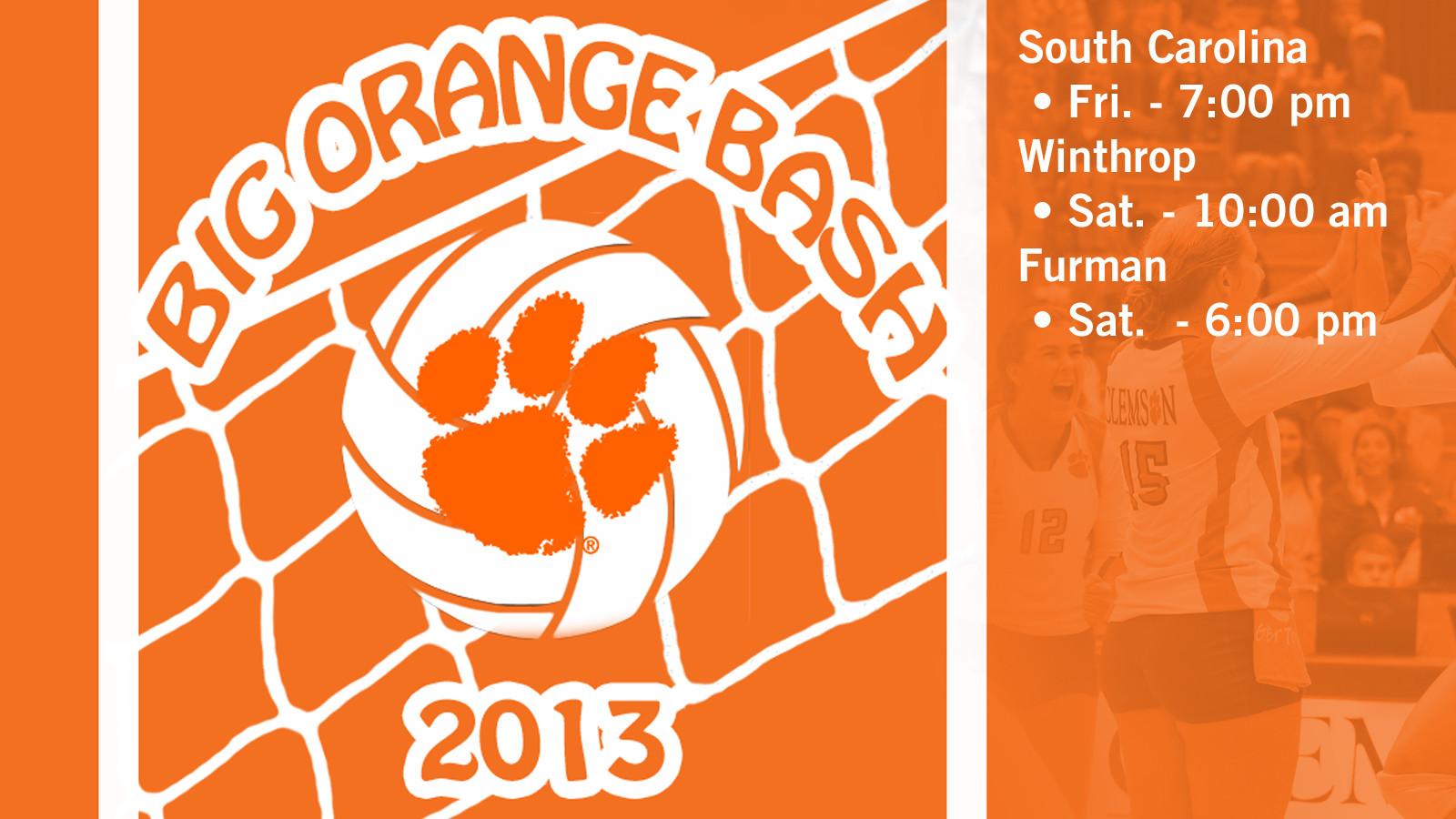 Volleyball Hosts Big Orange Bash This Weekend