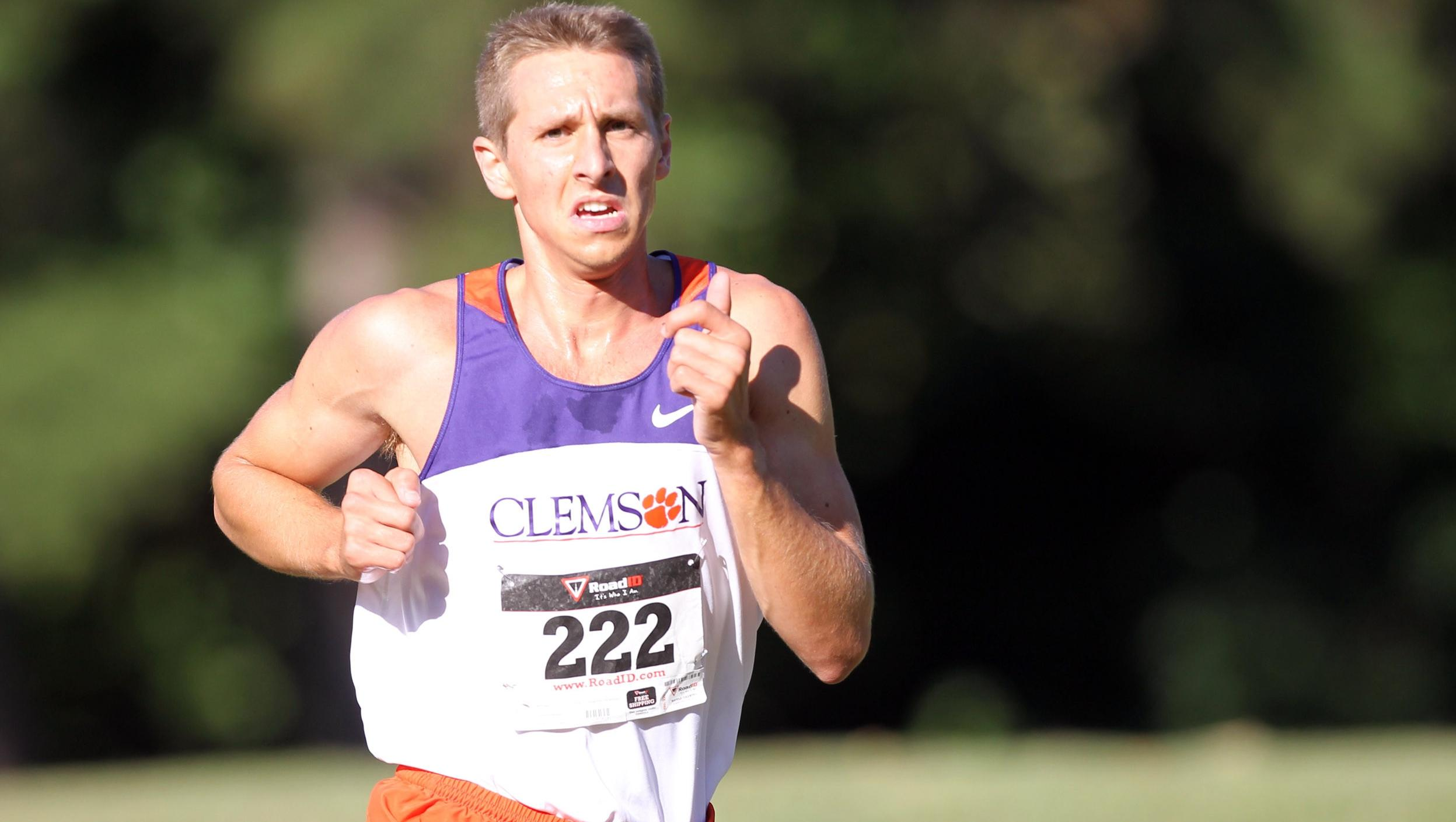 Hakes Paces Clemson Men to Third Place at Wake Forest Invitational