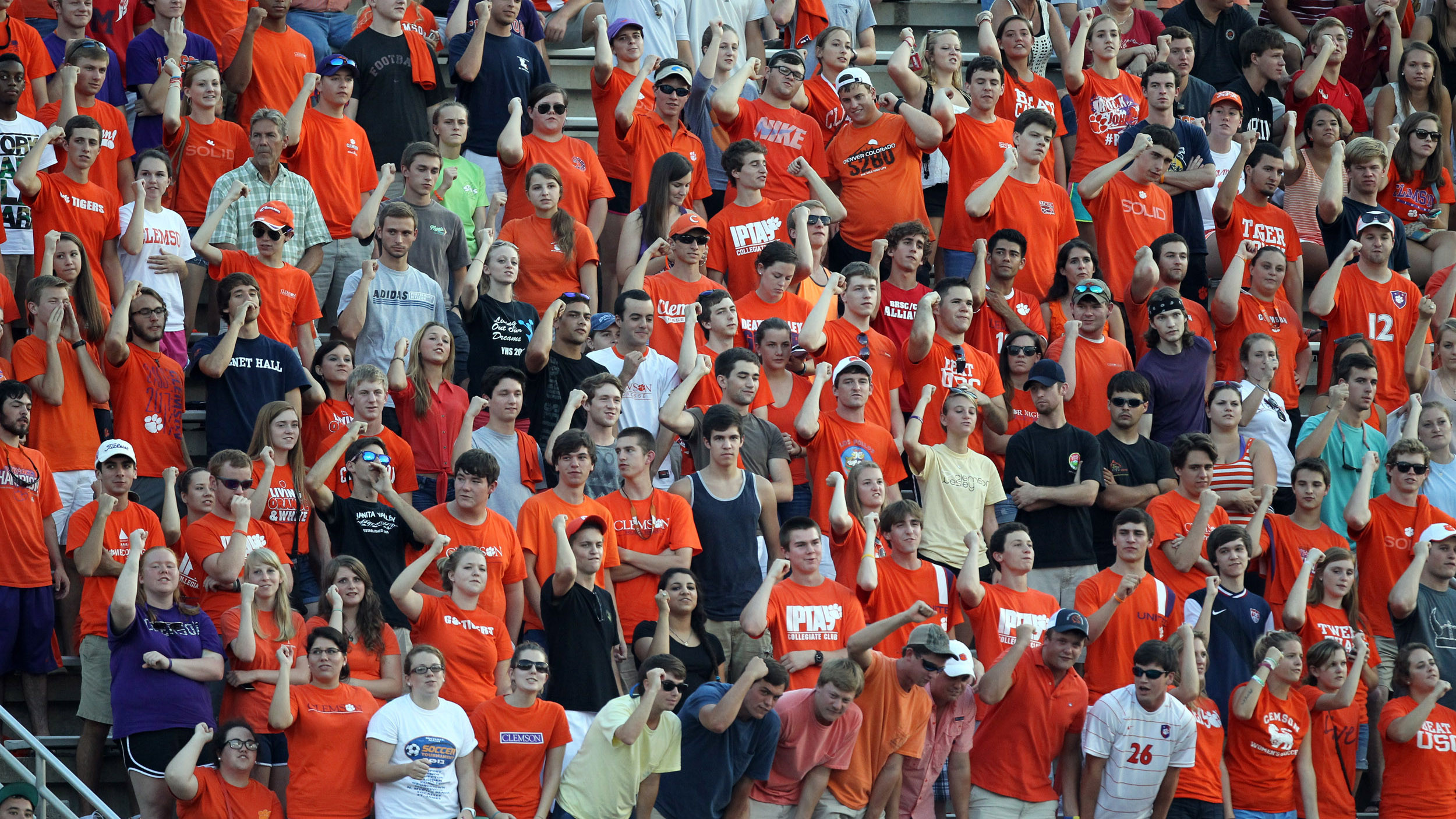 ClemsonTigers.com's Bald Girl on Campus: Clemson's Busy Weekend Sept. 6-8