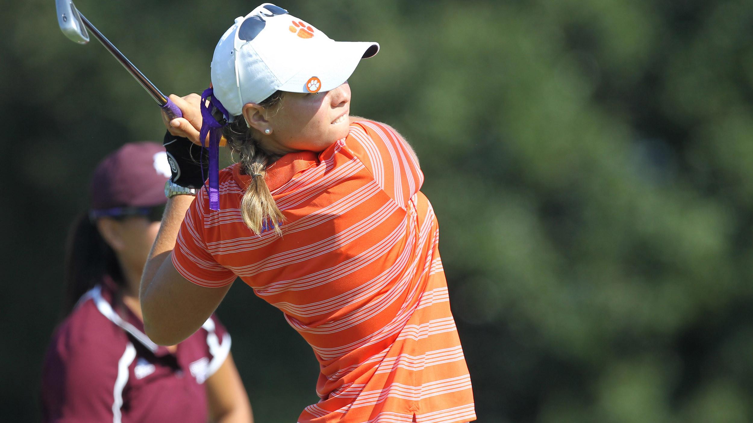 Clemson Women's Golf Returns to Course