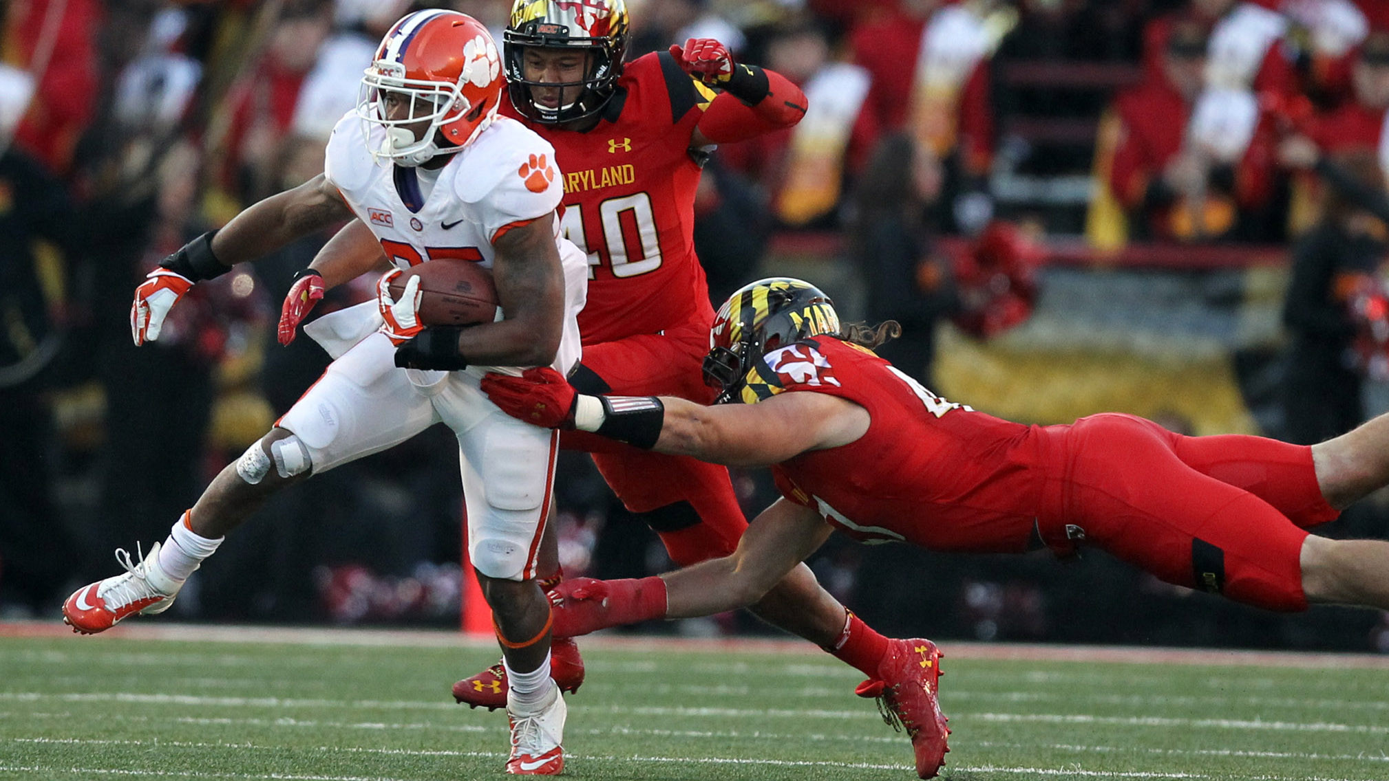 McDowell, Ground Game Power Tigers Past Maryland