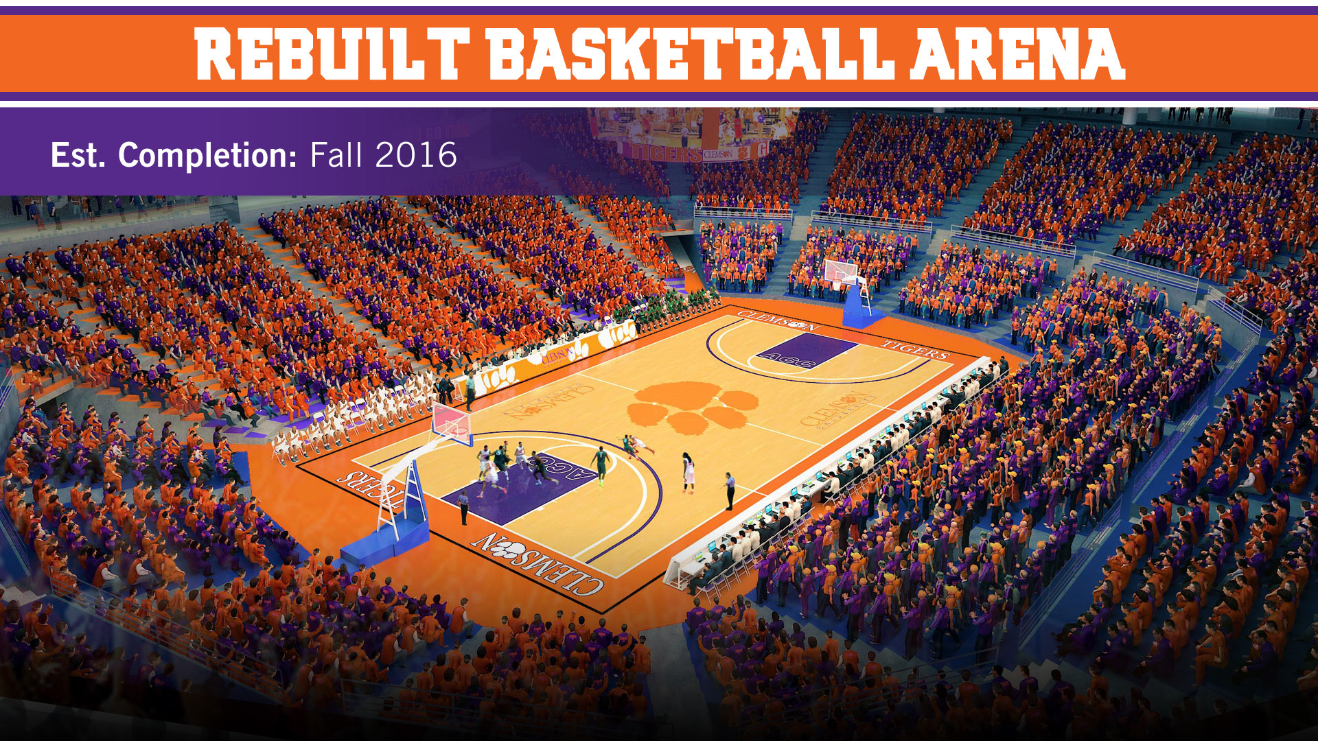 Rebuilt Basketball Arena