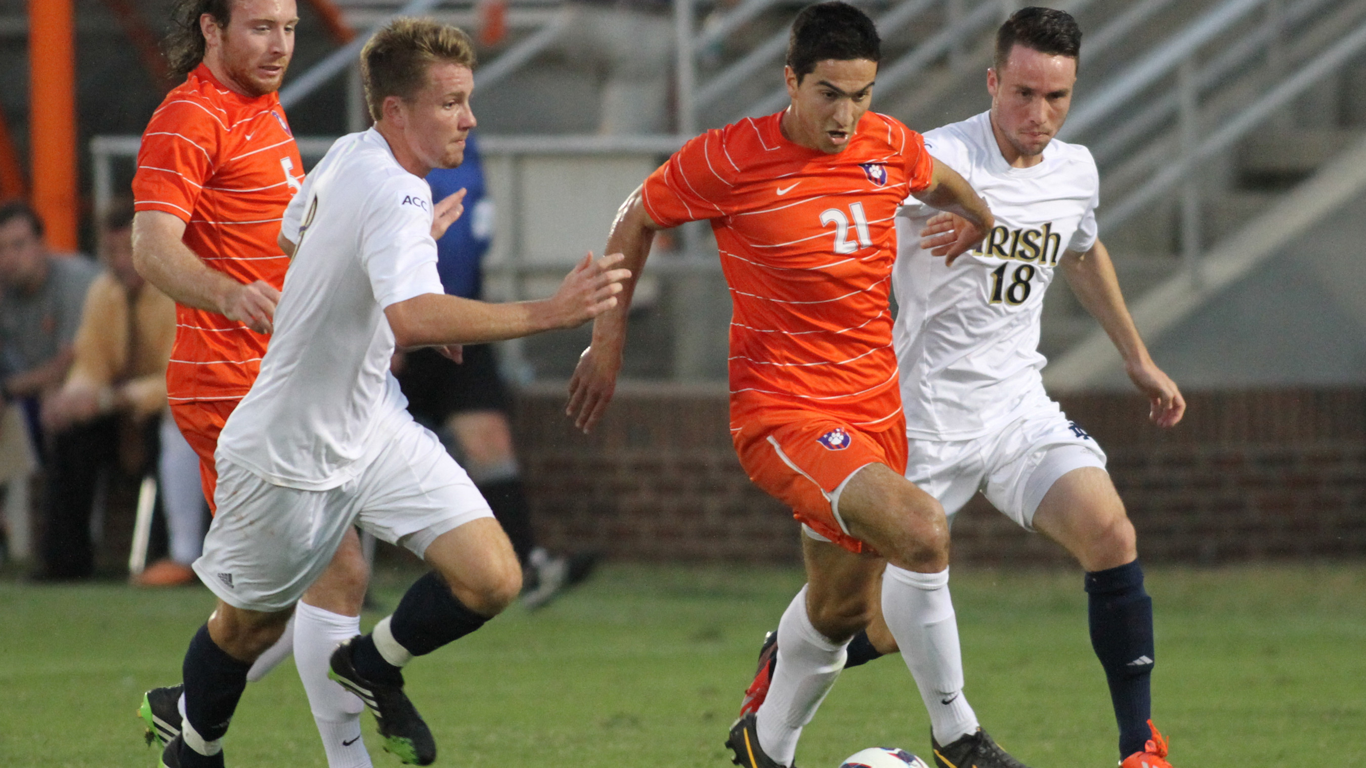 Two Clemson Soccer Players Named to the Capital One/CoSida Academic All-District Team
