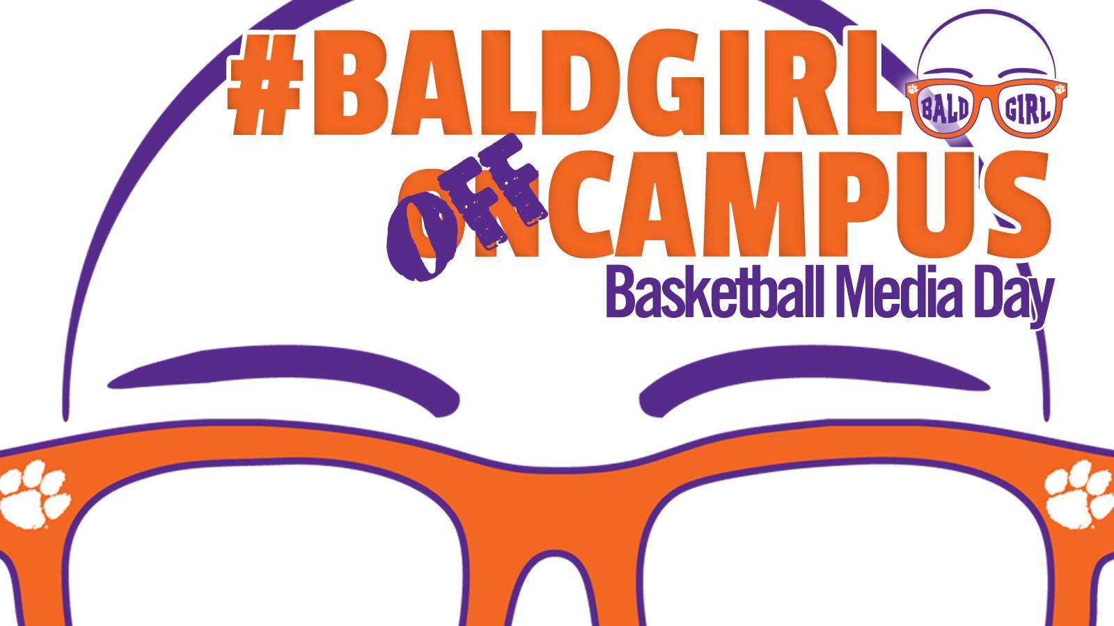 ClemsonTigers.com's Bald Girl on Campus: Basketball Media Day