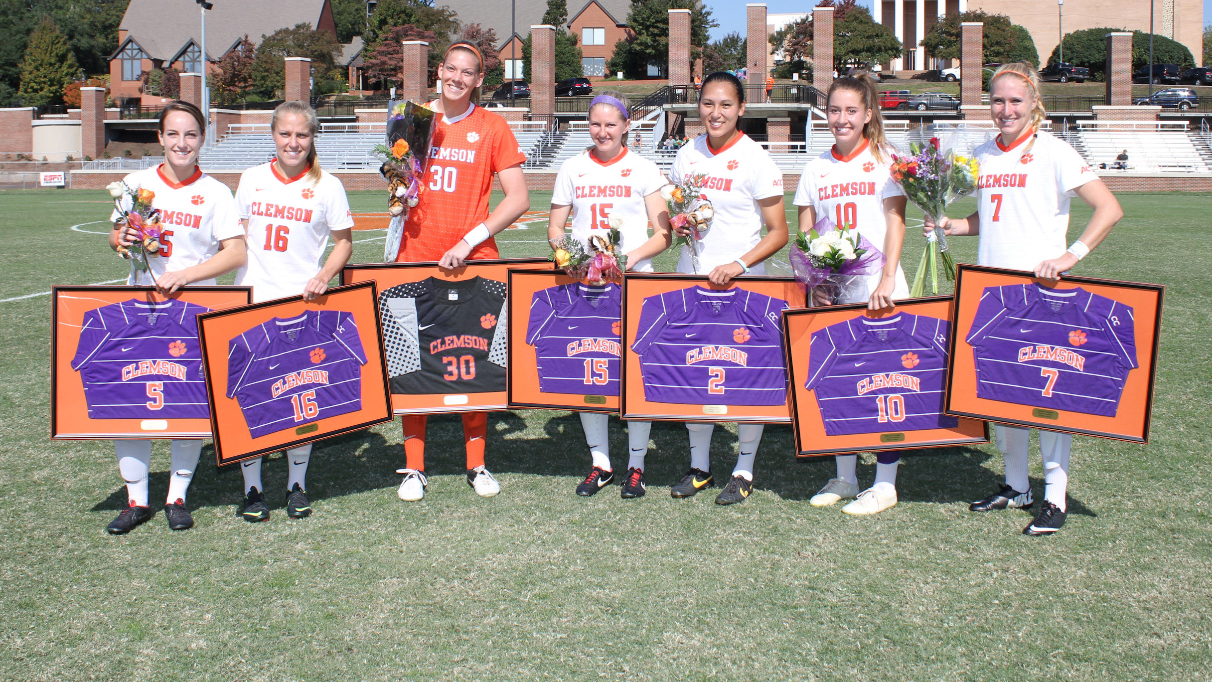 Tigers Fall to #12 Notre Dame Sunday Afternoon at Historic Riggs Field