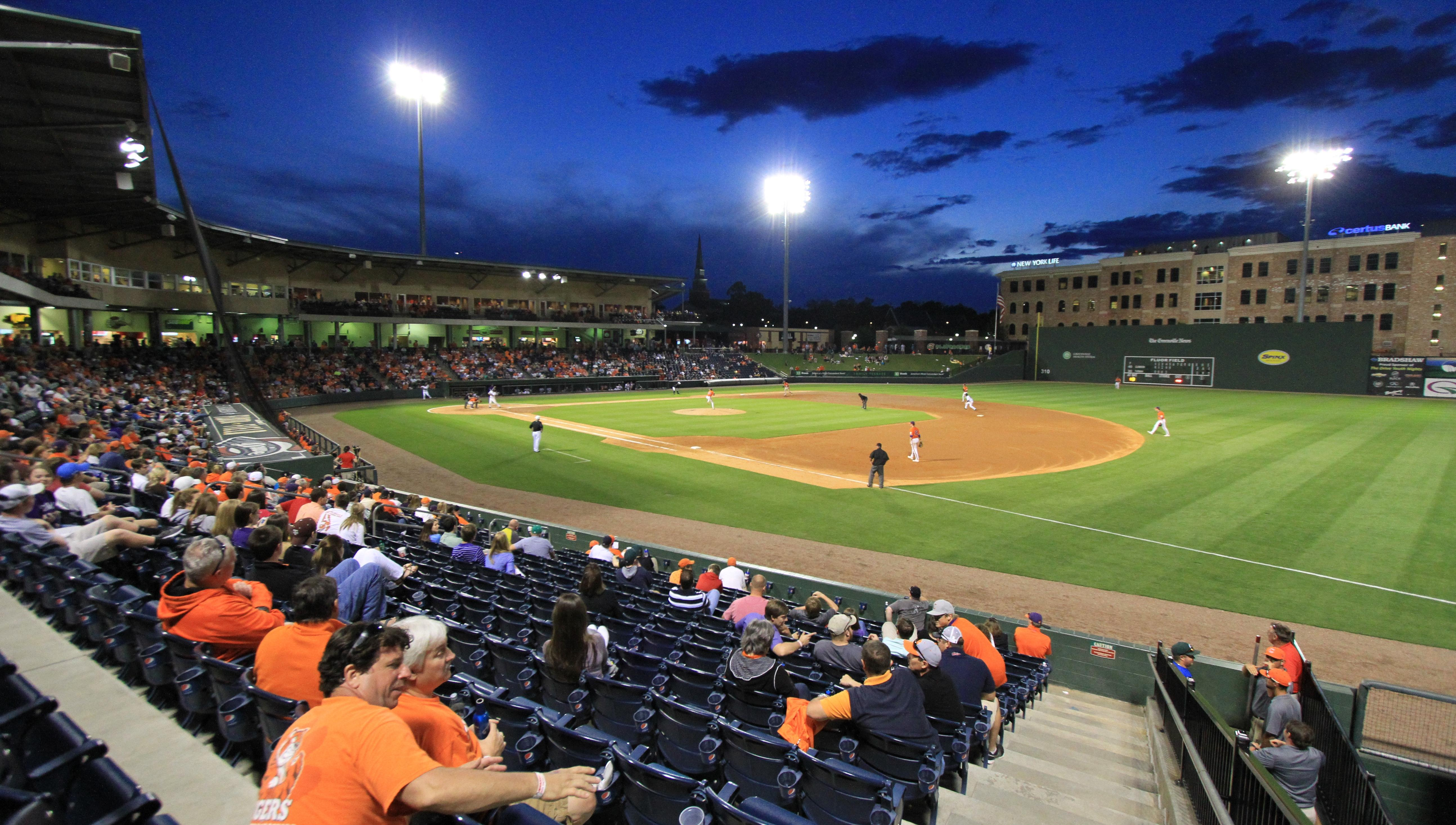 Clemson Baseball to Host College Lafleche in Game at Fluor Field on October 17