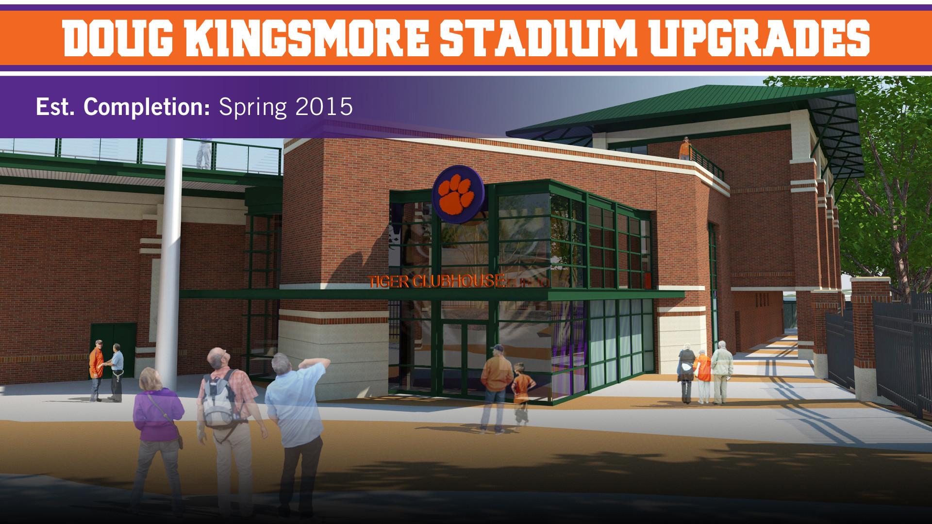 Doug Kingsmore Stadium Upgrades