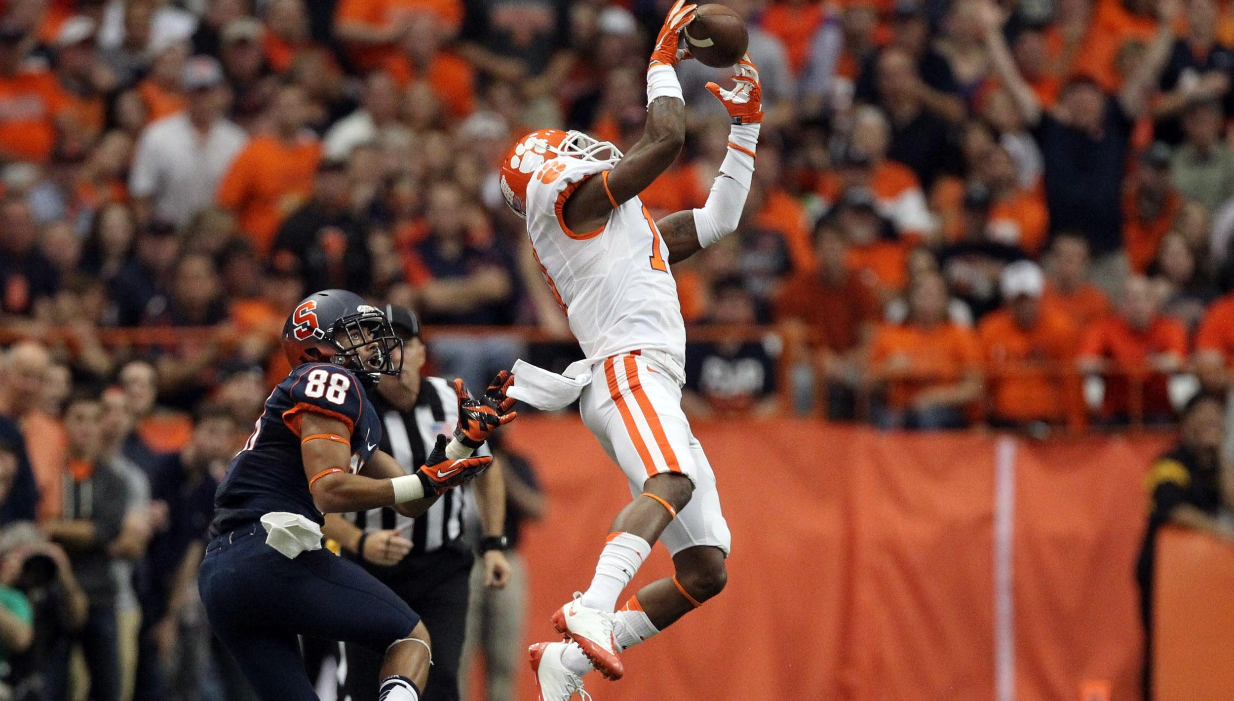 Clemson @ Syracuse Replay Now Available on ClemsonTigers.com