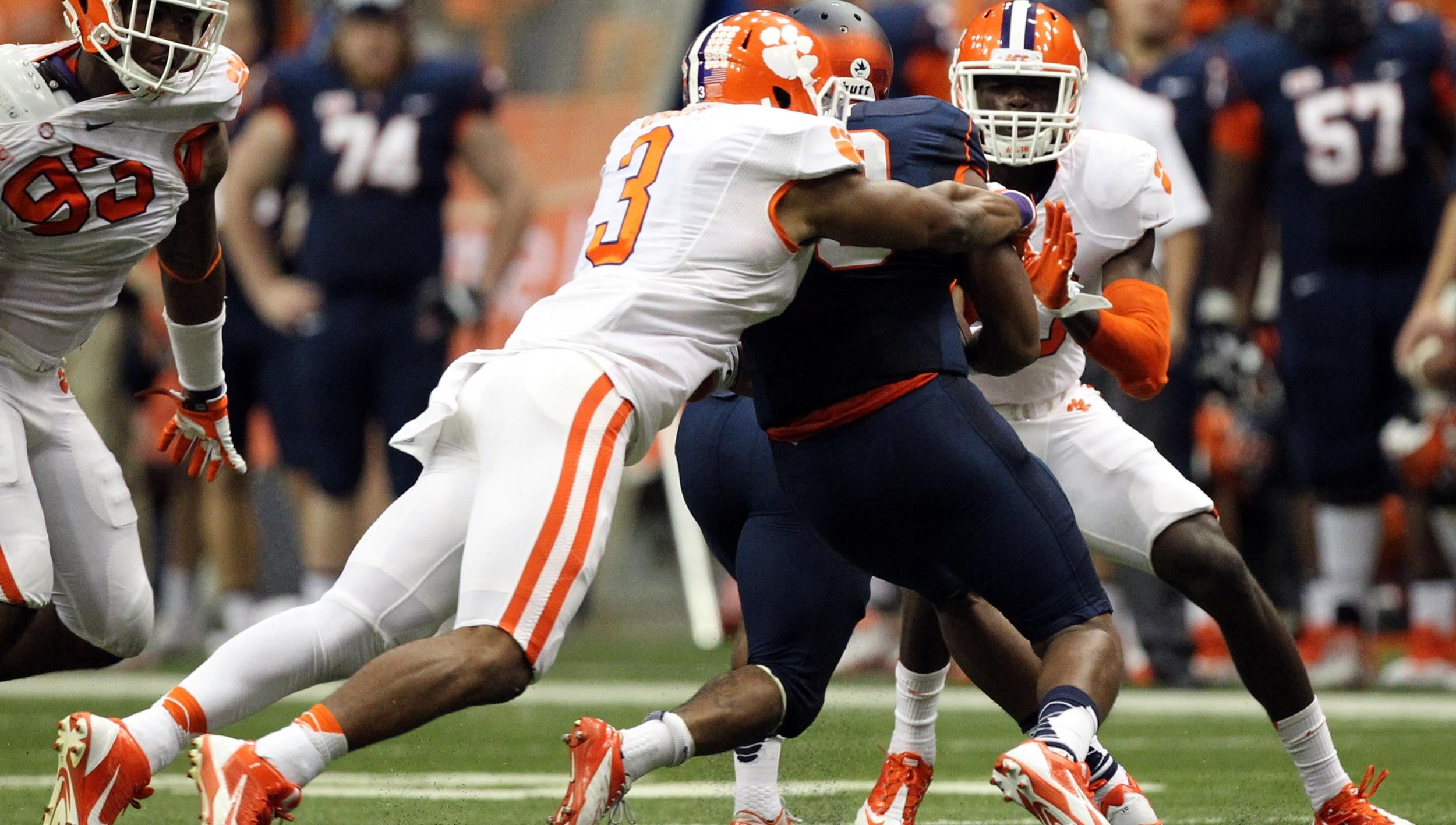 Three Tigers Earn ACC Player of the Week Honors