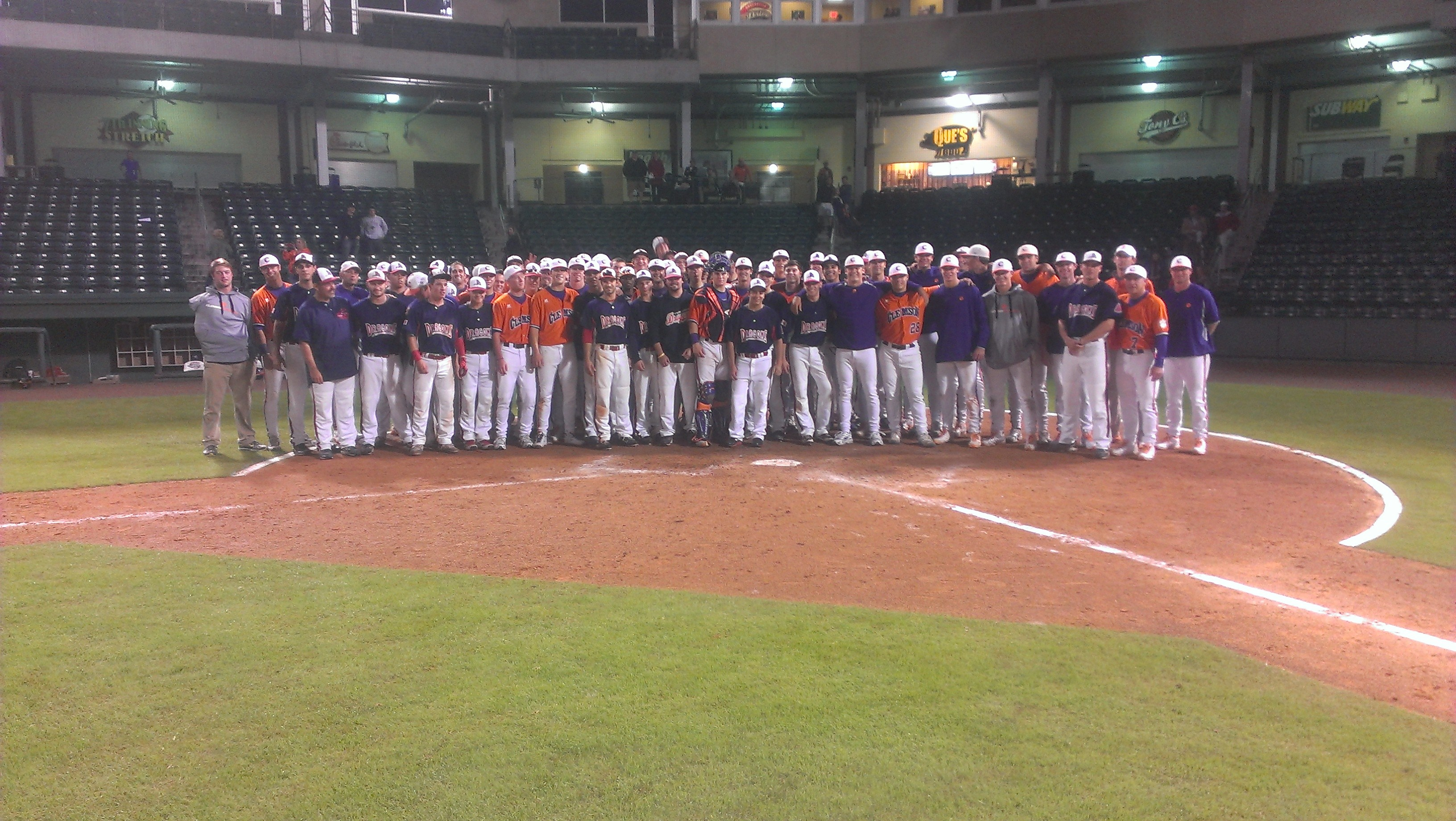 Tigers Top LaFleche 22-2 Thursday Night at Fluor Field