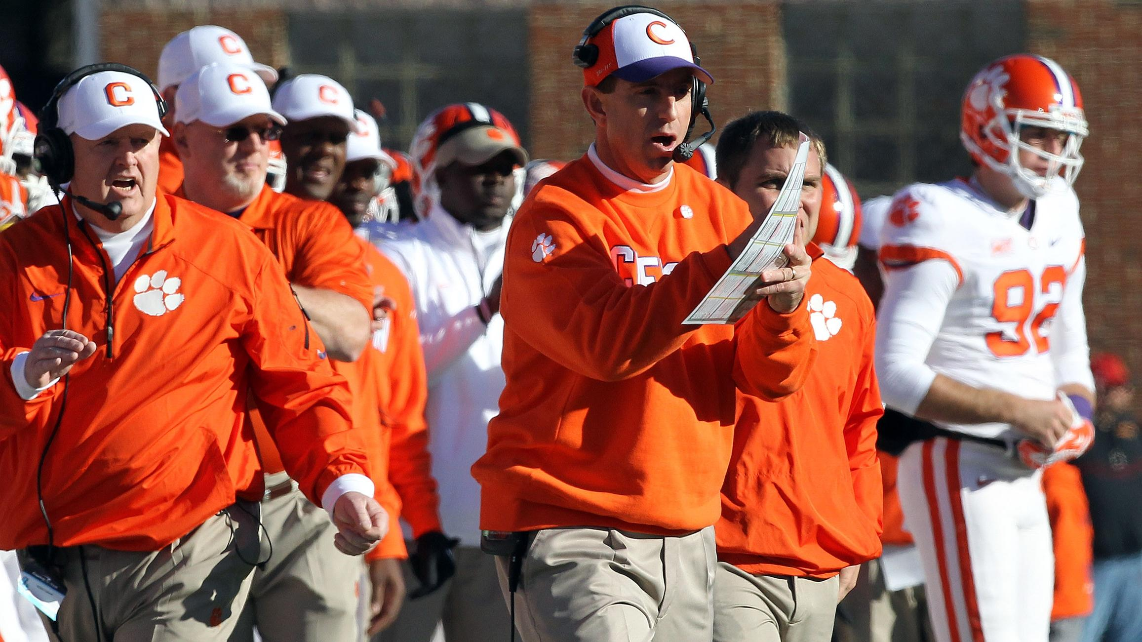EXCLUSIVE: Swinney: 'Best is yet to come for Tigers'