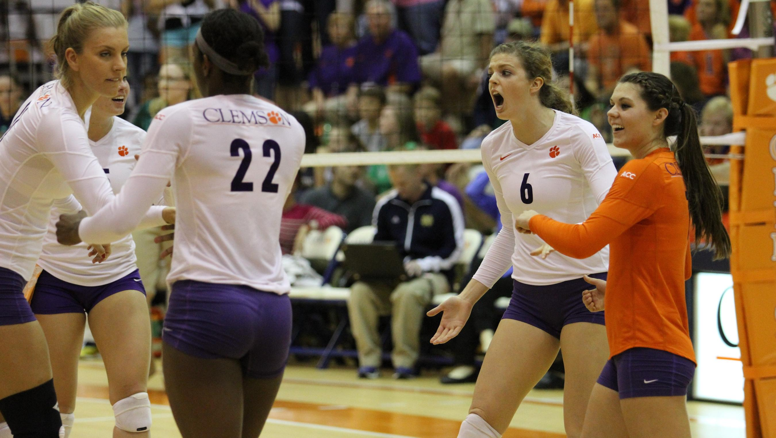 @ClemsonVB Travels to NC State, North Carolina Starting Thursday