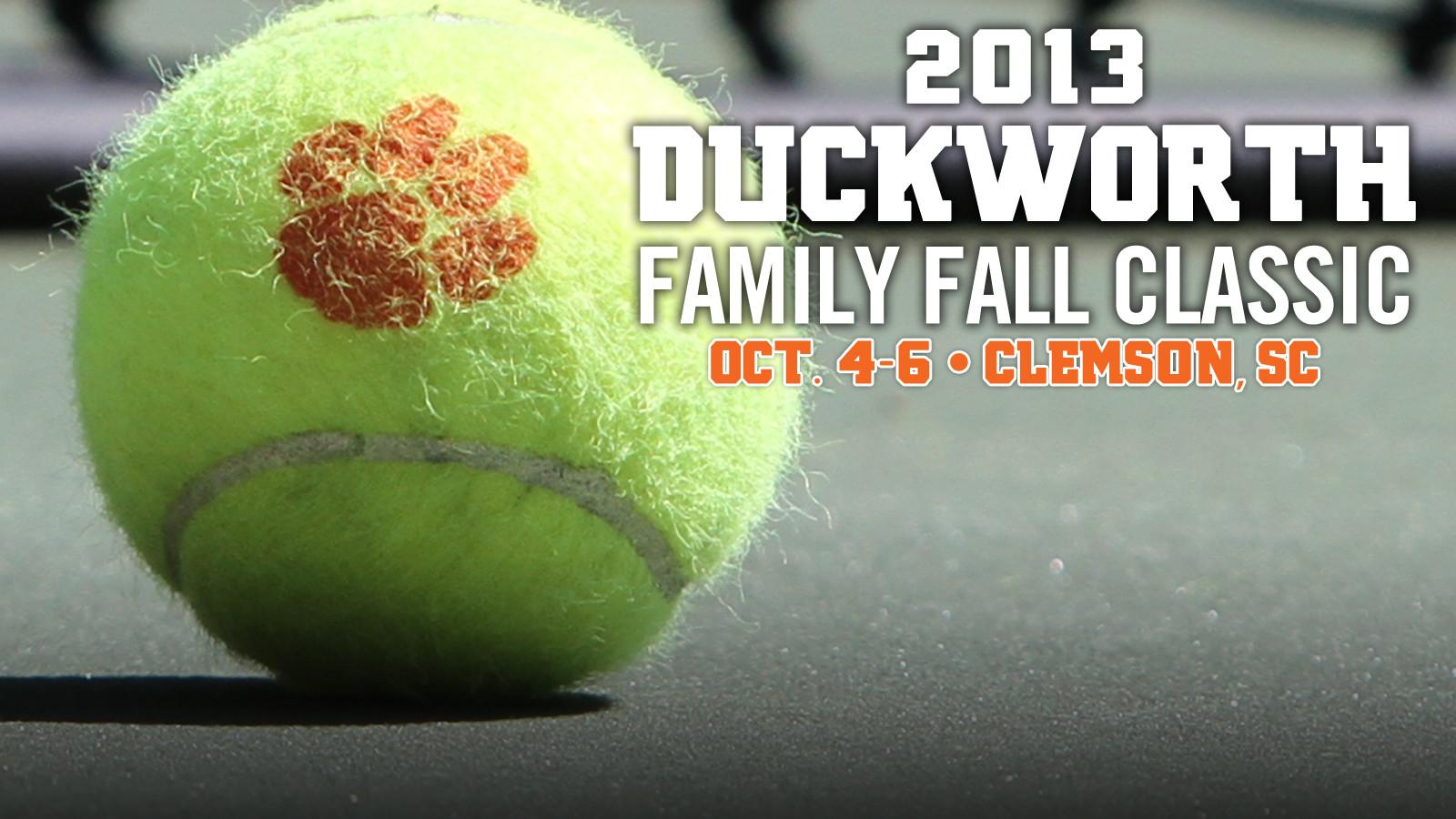 2013 Duckworth Family Fall Classic
