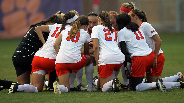 Clemson Women's Soccer Team Earns NSCAA Team Academic Award
