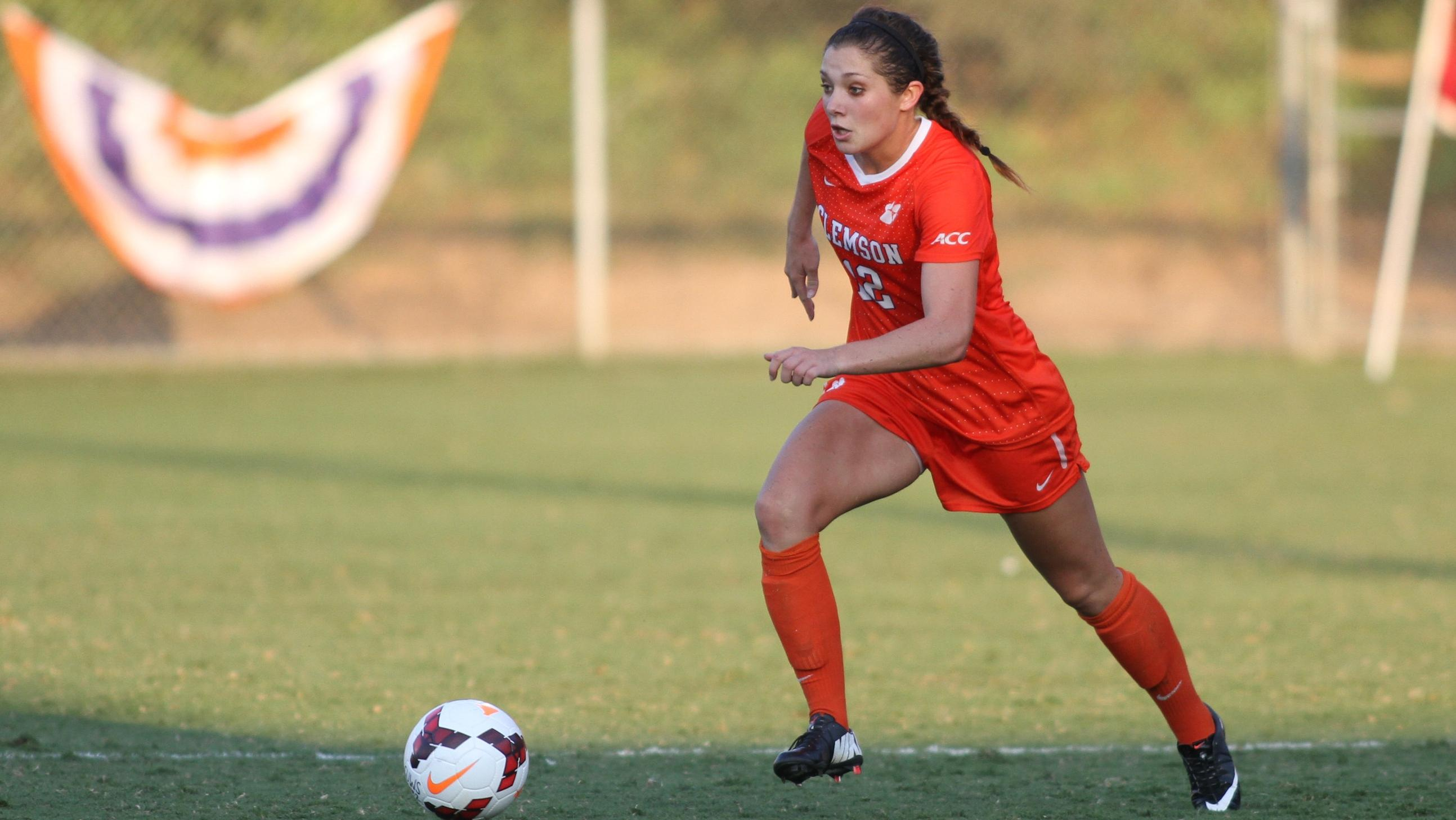Reeve Named to Capital One Academic All-District Women's Soccer Team