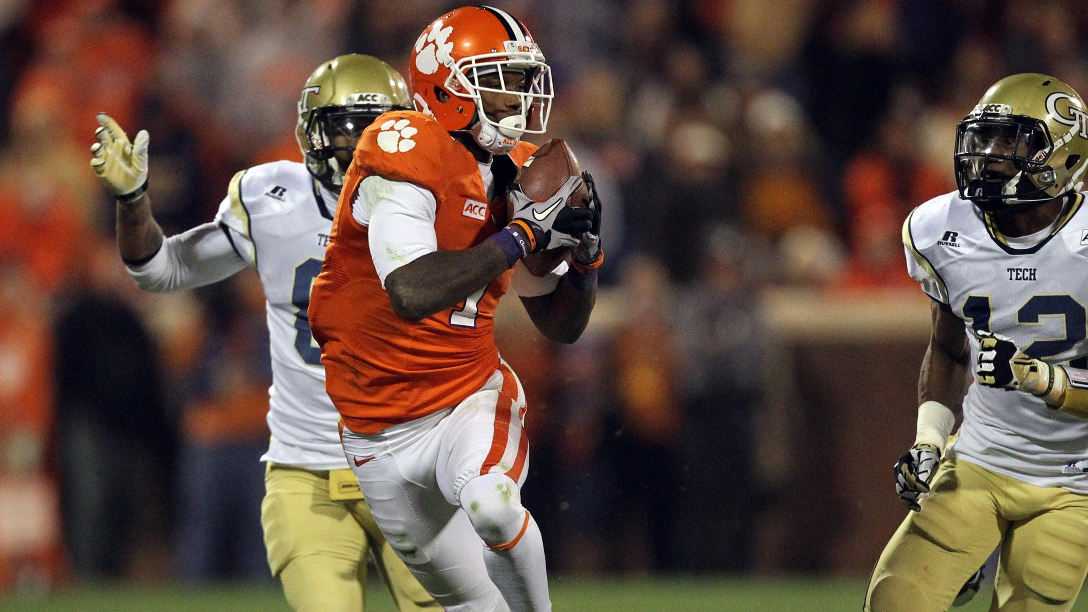 Bryant Named ACC Receiver of the Week