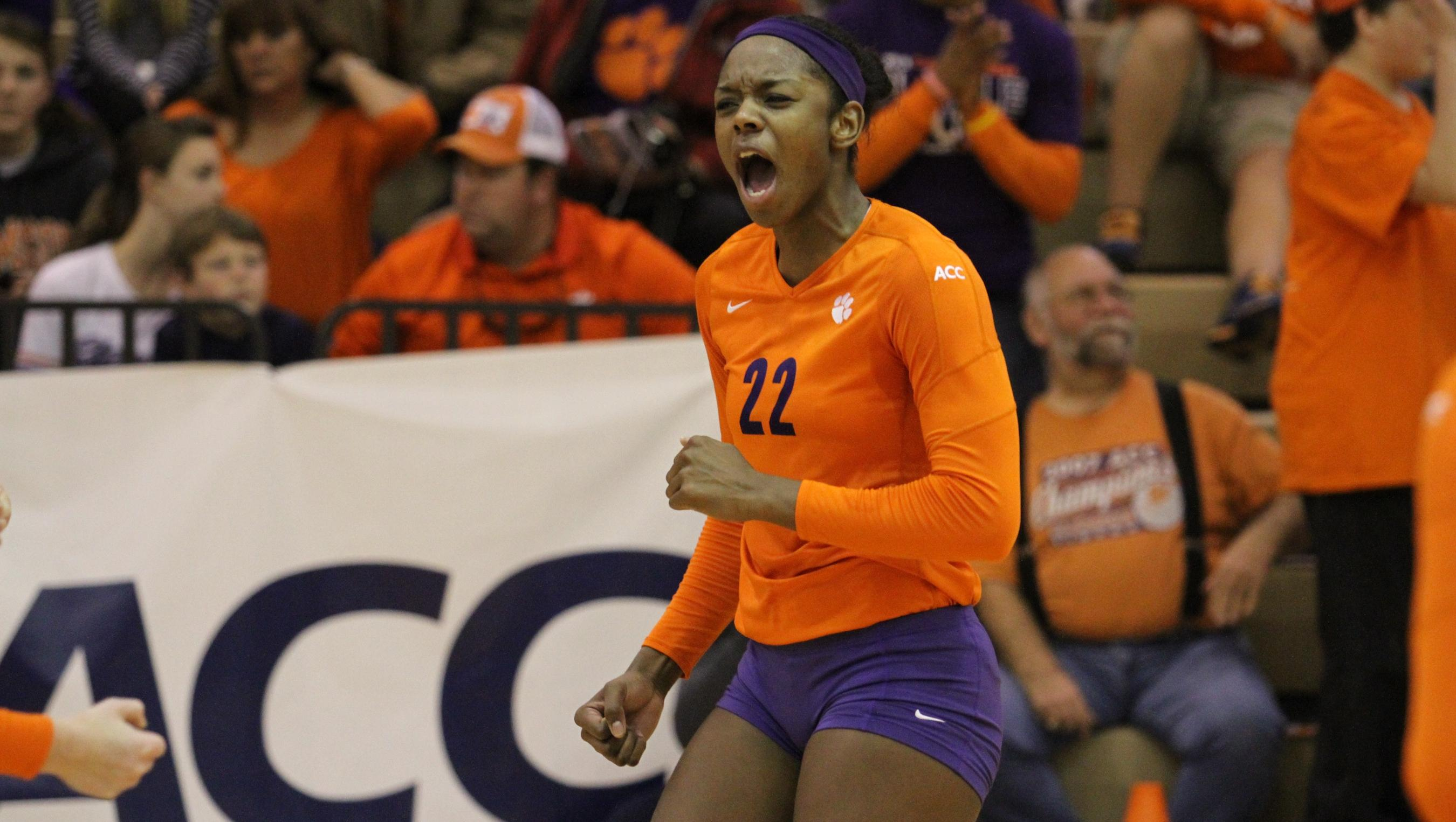 @ClemsonVB Falls to No. 16 Florida State on Wednesday