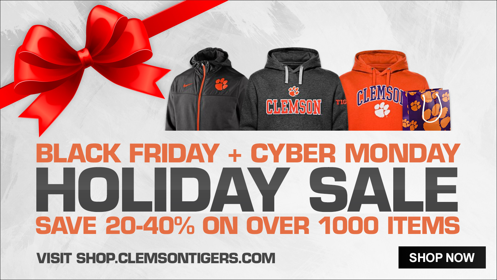 Holiday Sale Now Underway at Official Online Store