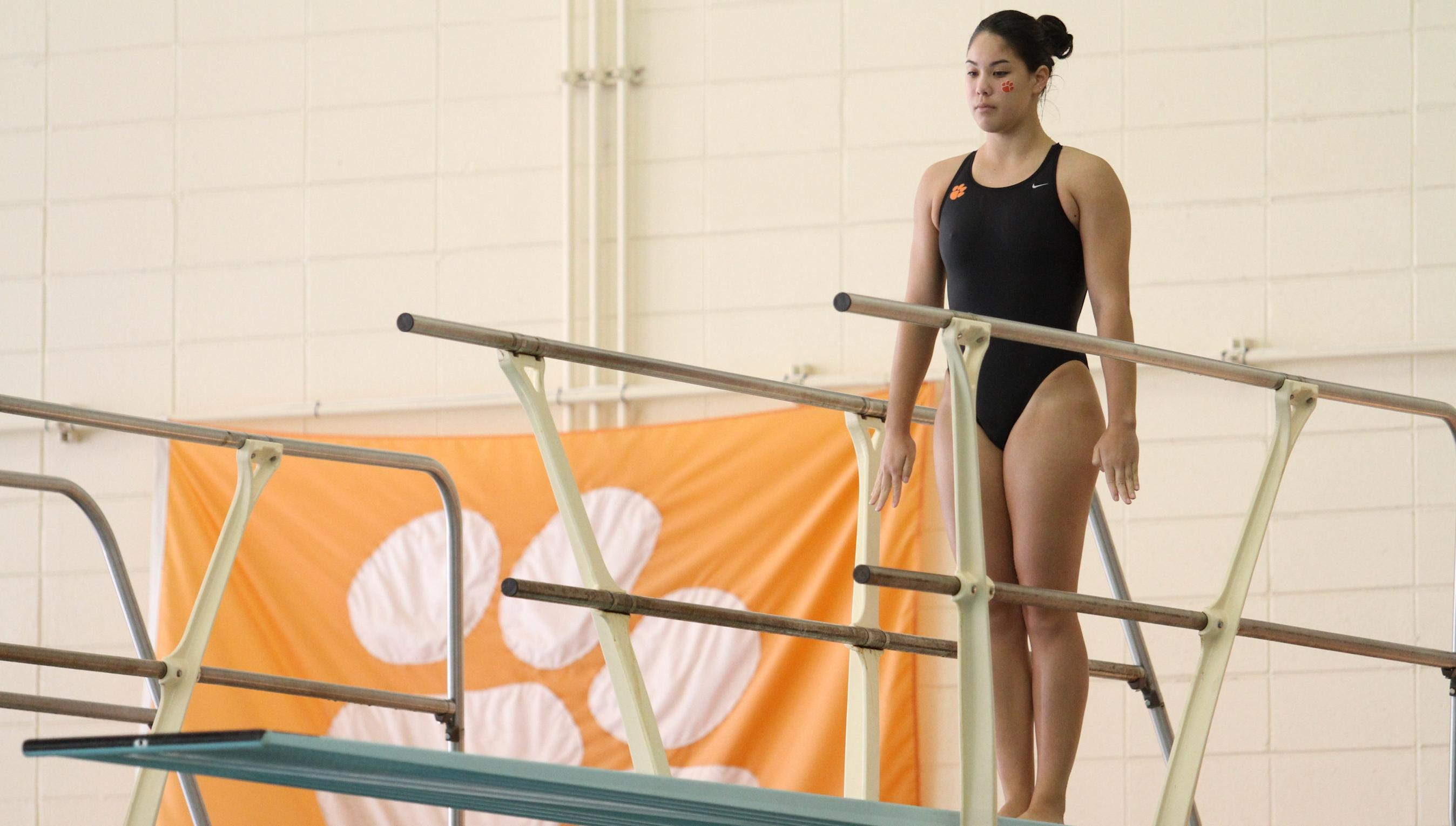 Diving Tops South Carolina on Wednesday