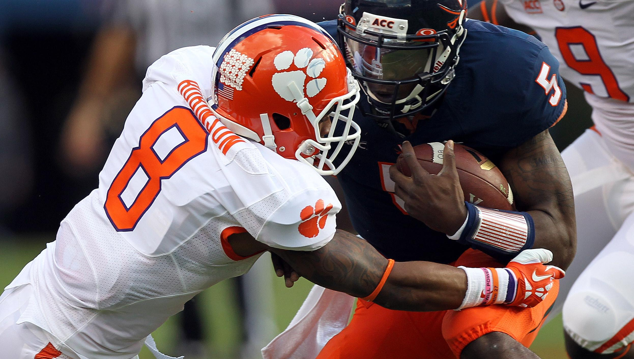 Clemson Football Video Report: 100 Yards with Darius Robinson