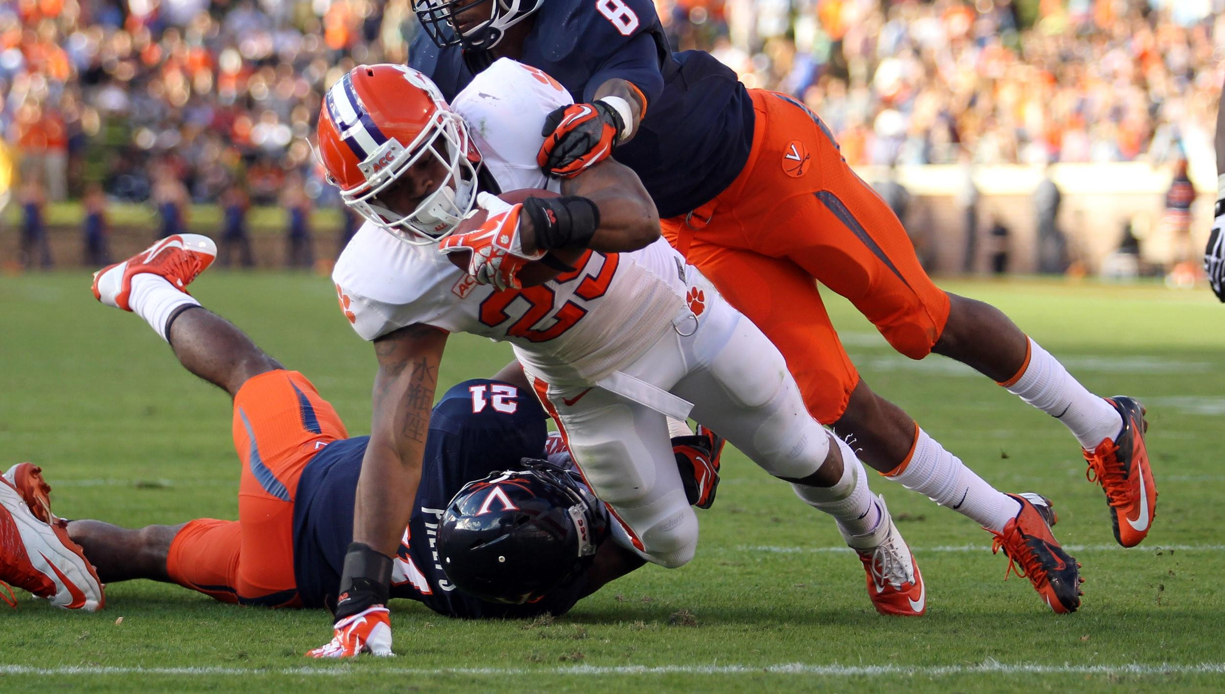 Clemson Football Video: All In Highlight Reel, Nov. 5