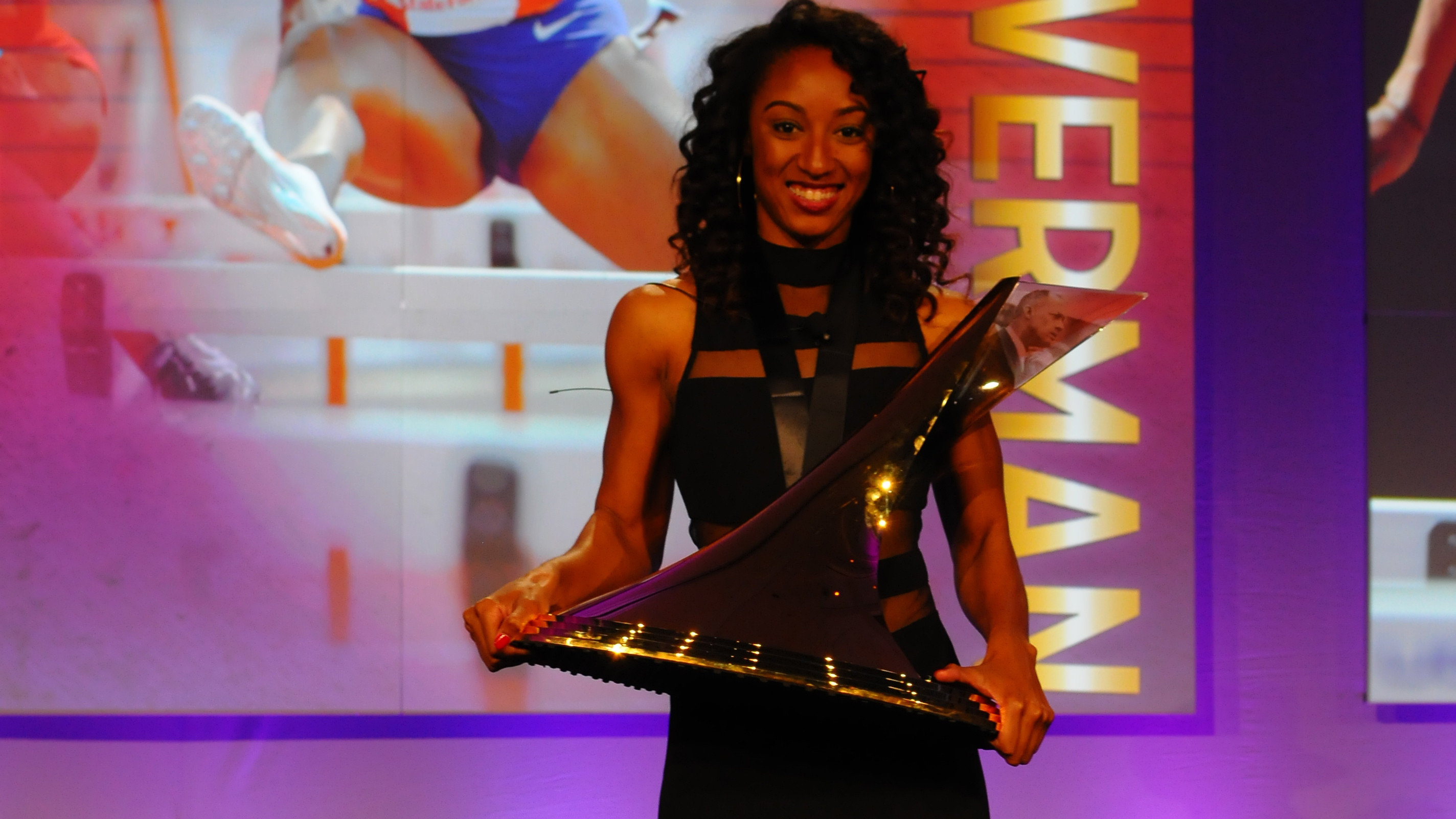 Clemson's Brianna Rollins Claims The Bowerman Trophy