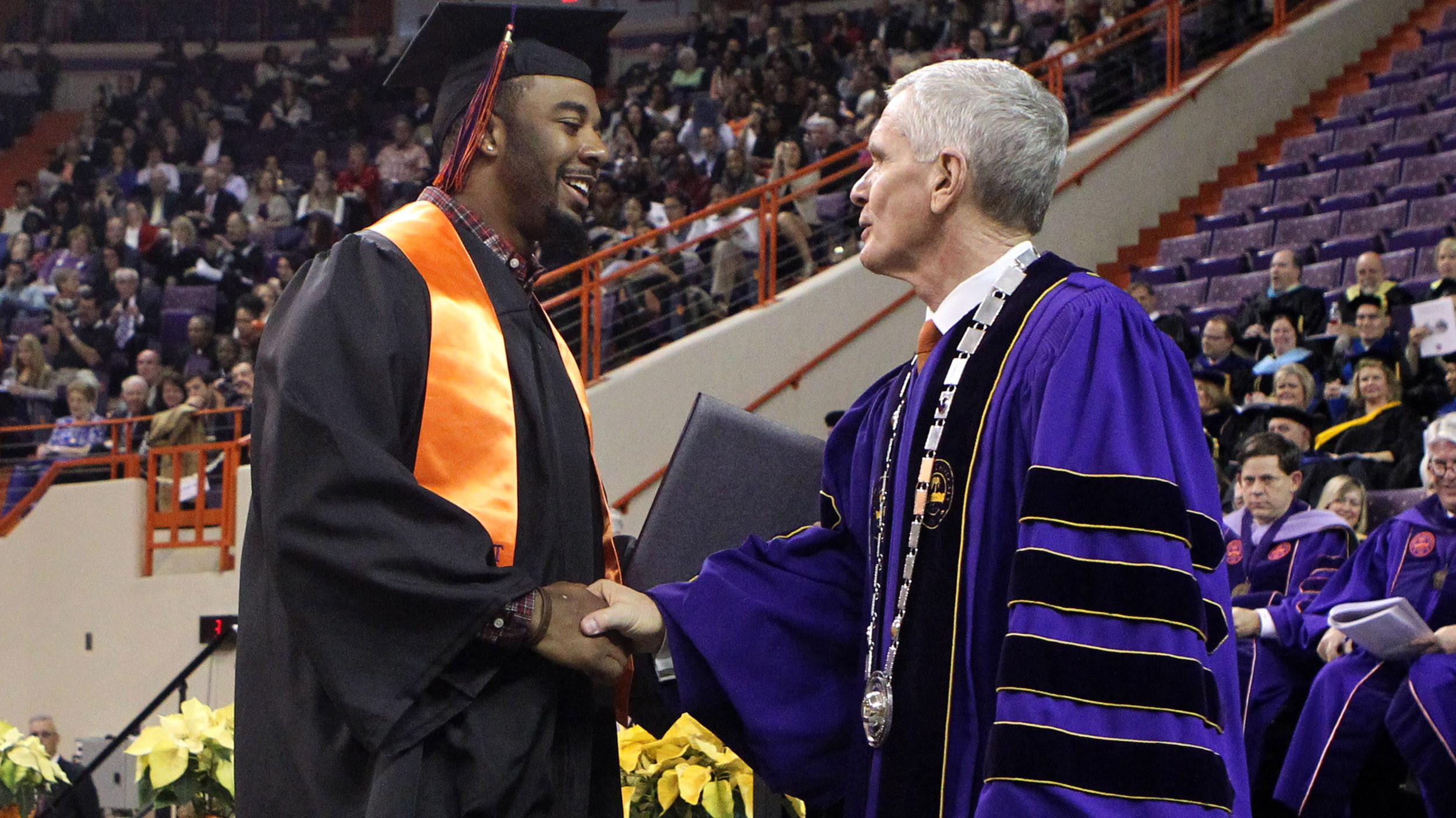 Twenty-Five Clemson Student-Athletes Earn Degrees