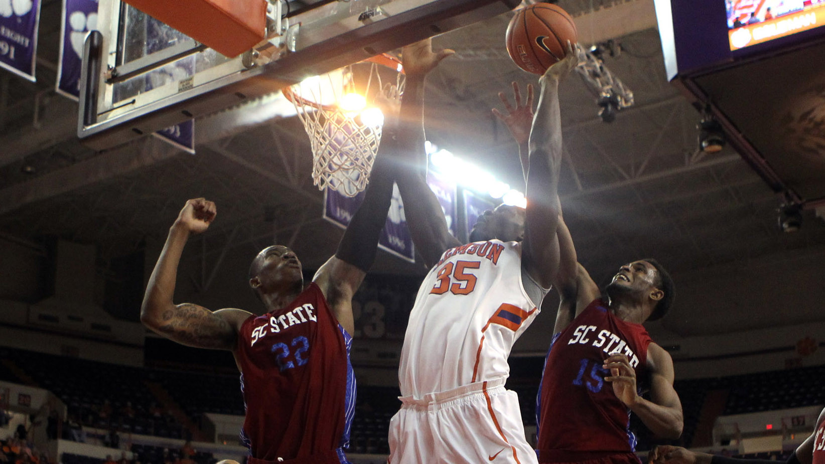 Coleman, Nnoko Propel Tigers to 65-49 Victory over SC State Tuesday