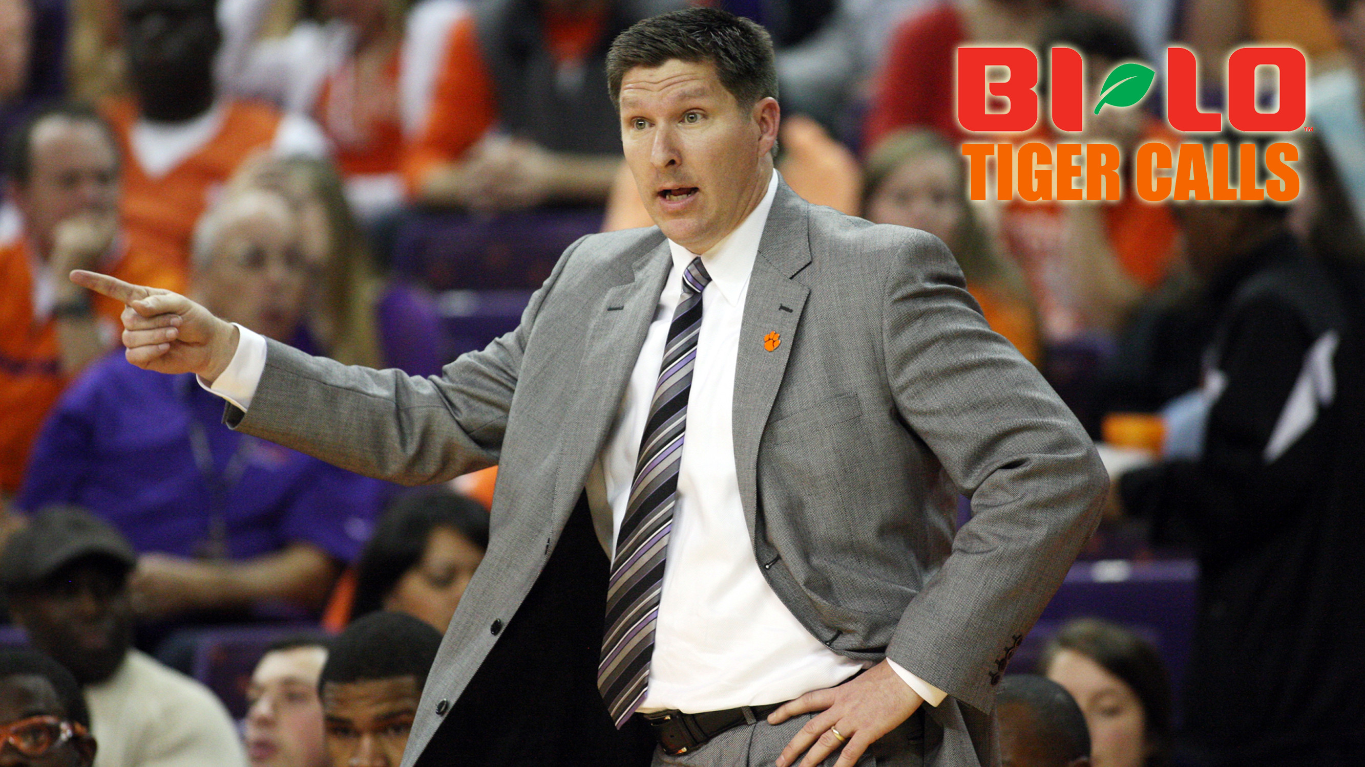 Listen to BI-LO Tiger Calls with Brad Brownell Live on ClemsonTigers.com Monday at 7 PM
