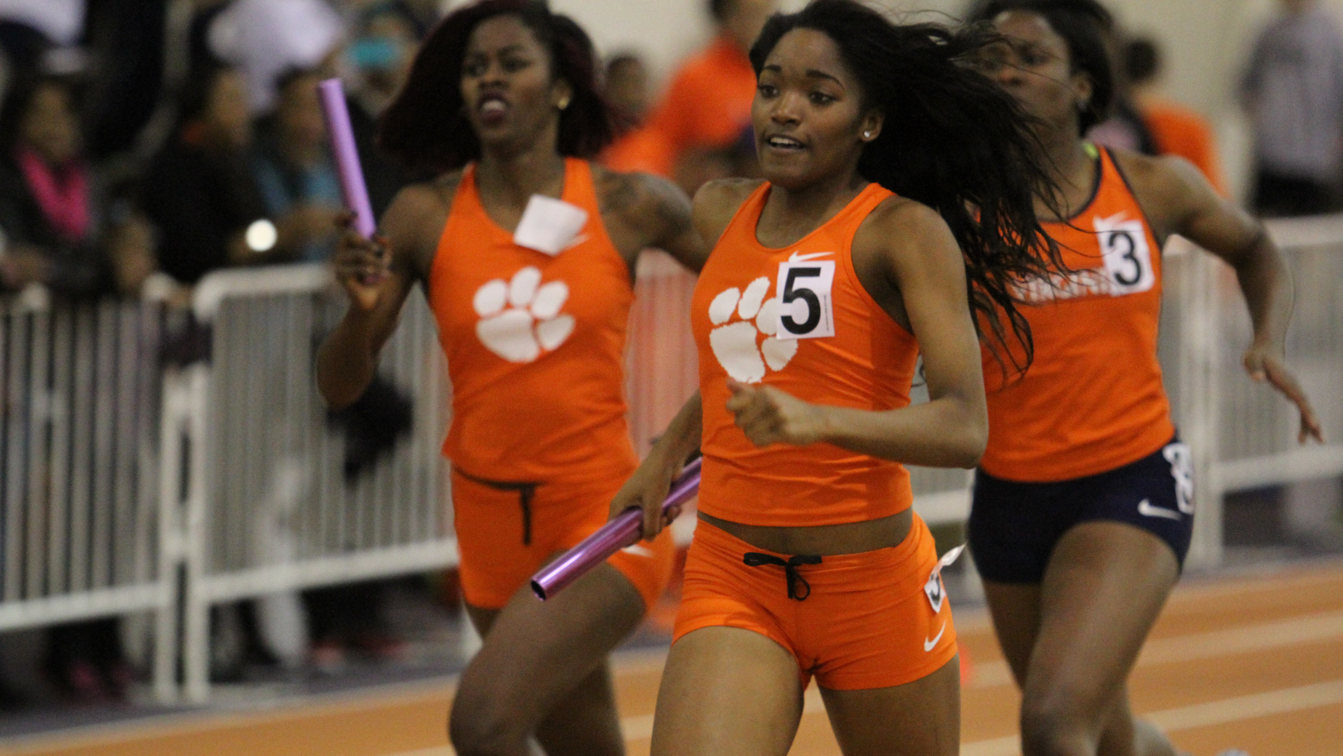 Clemson Completes Action at Auburn Indoor Invitational