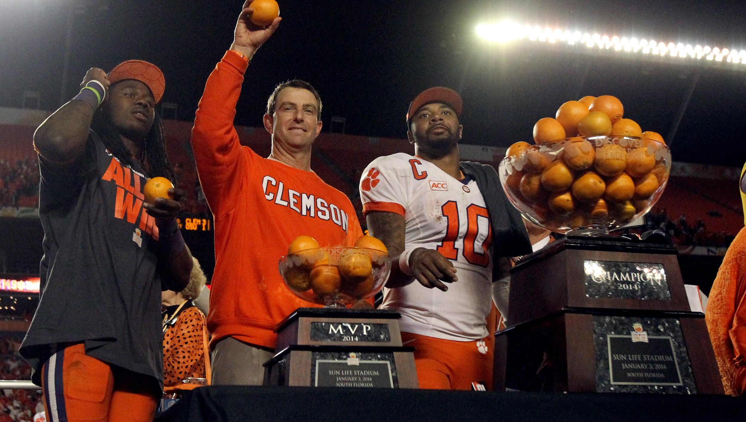 Clemson Seventh in USA Today, Eighth in AP Final Poll