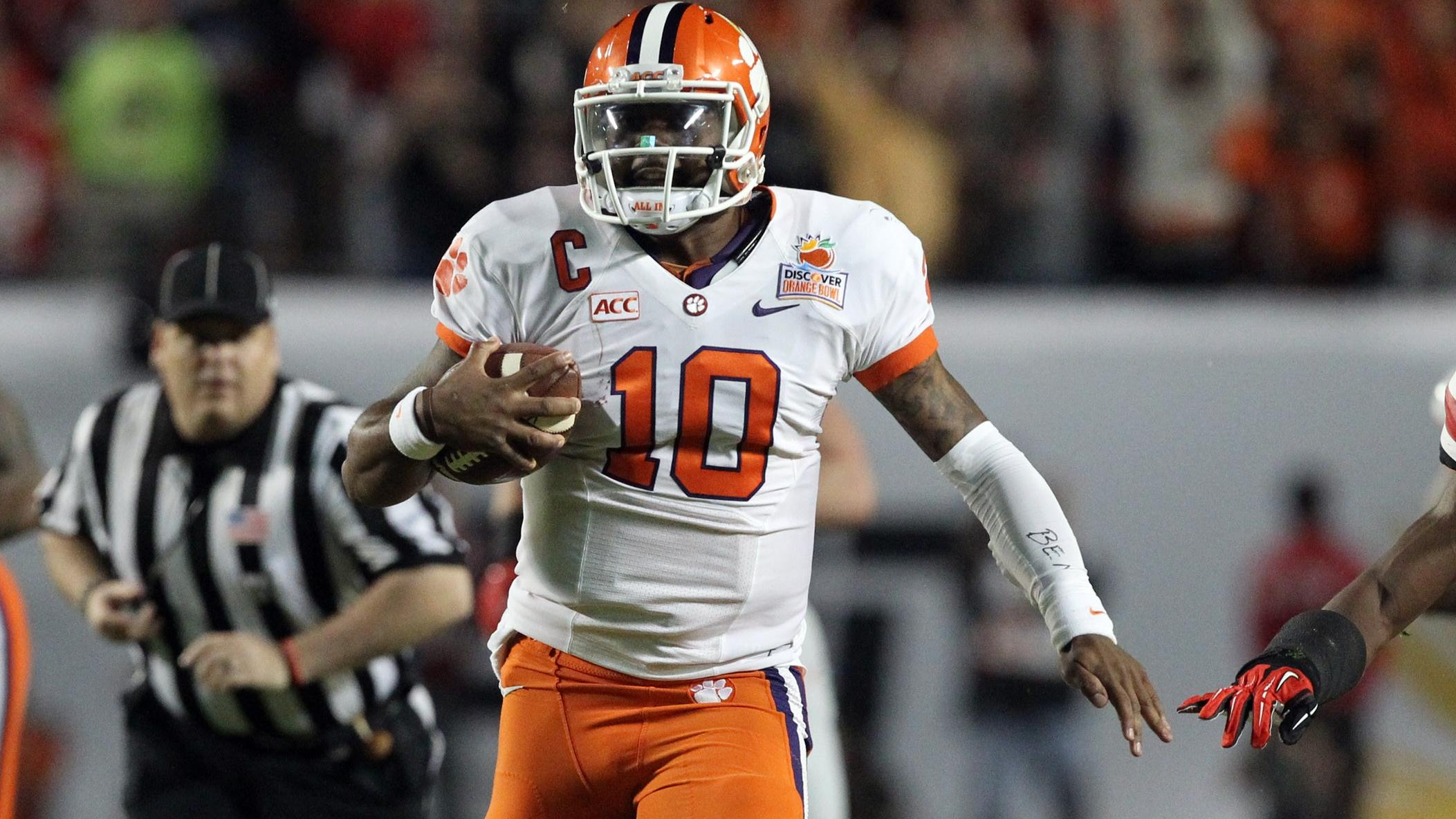 Tajh Boyd Signs With Steelers