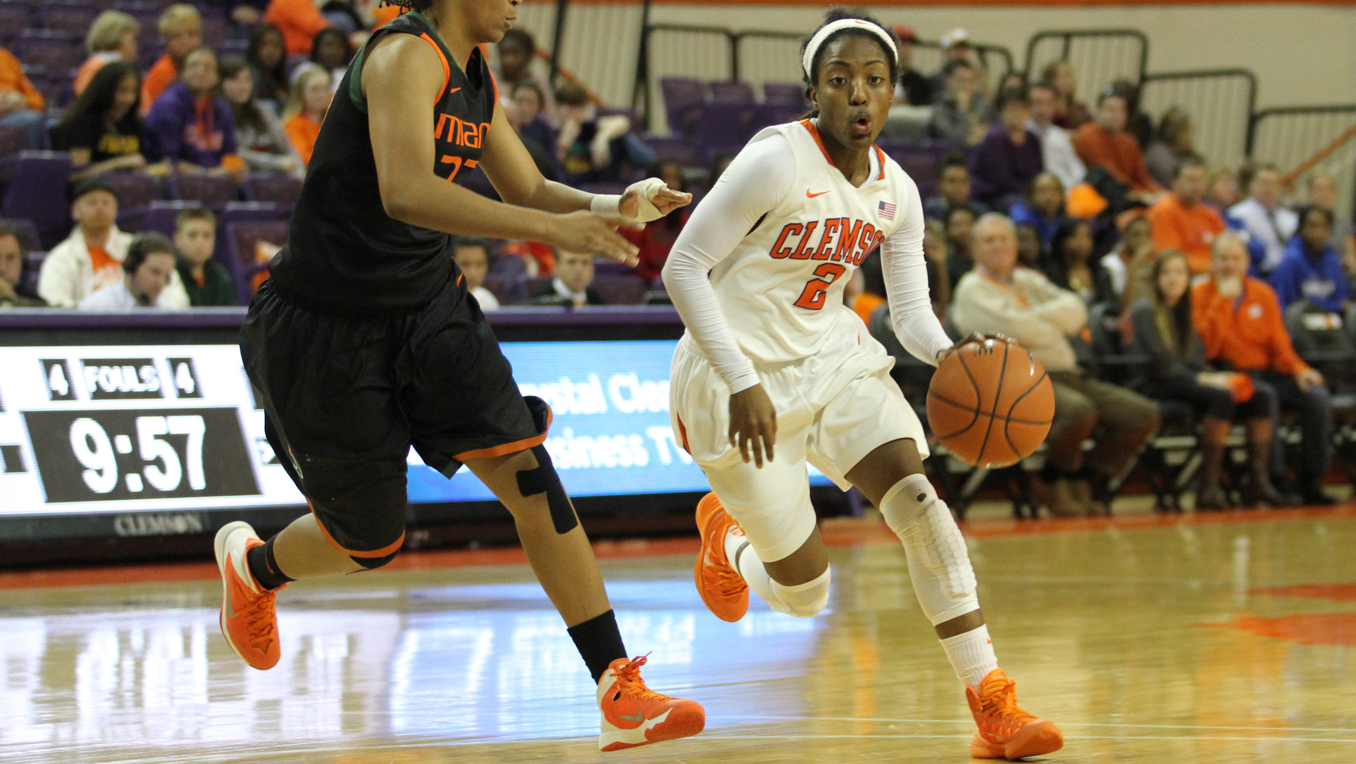 @ClemsonWBB to Play Georgia Tech in Atlanta Thursday