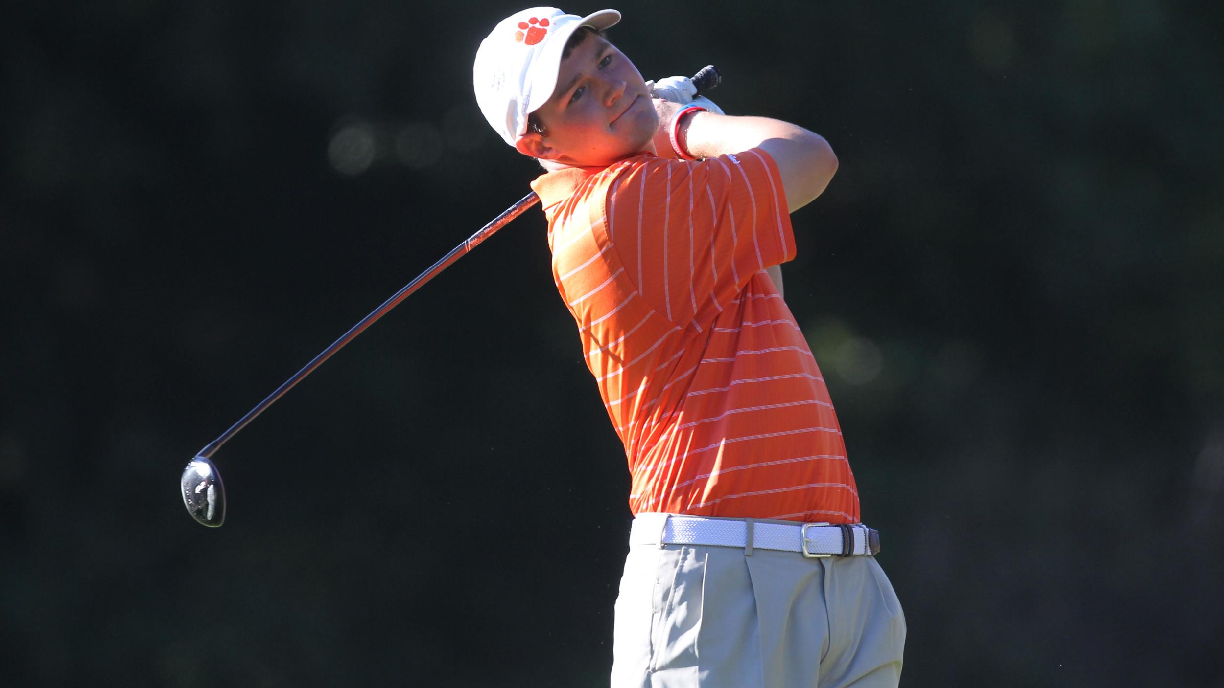 Clemson Men's Golf Team Returns to Action Sunday
