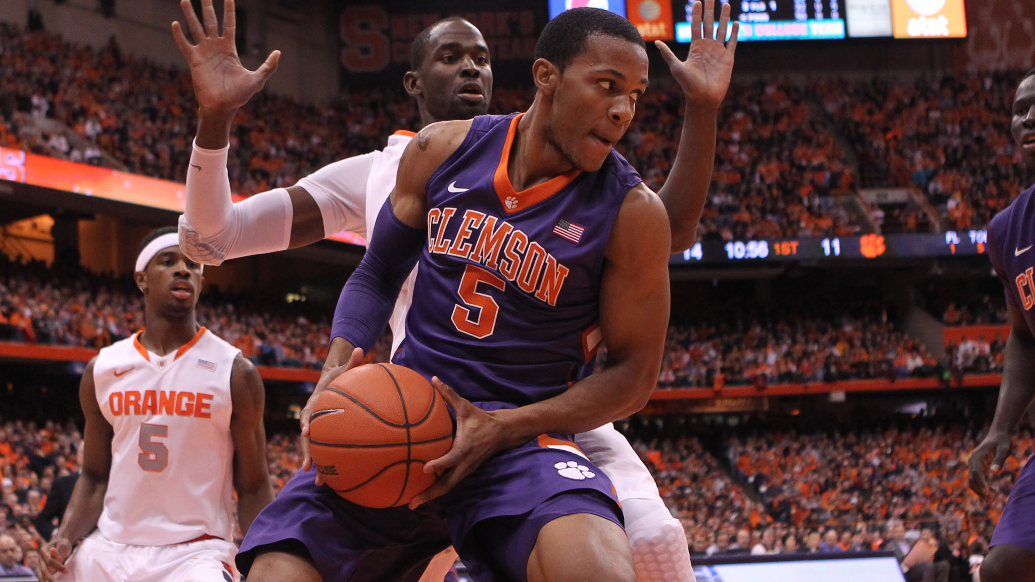 Tigers to Host NC State Tuesday at 7 PM