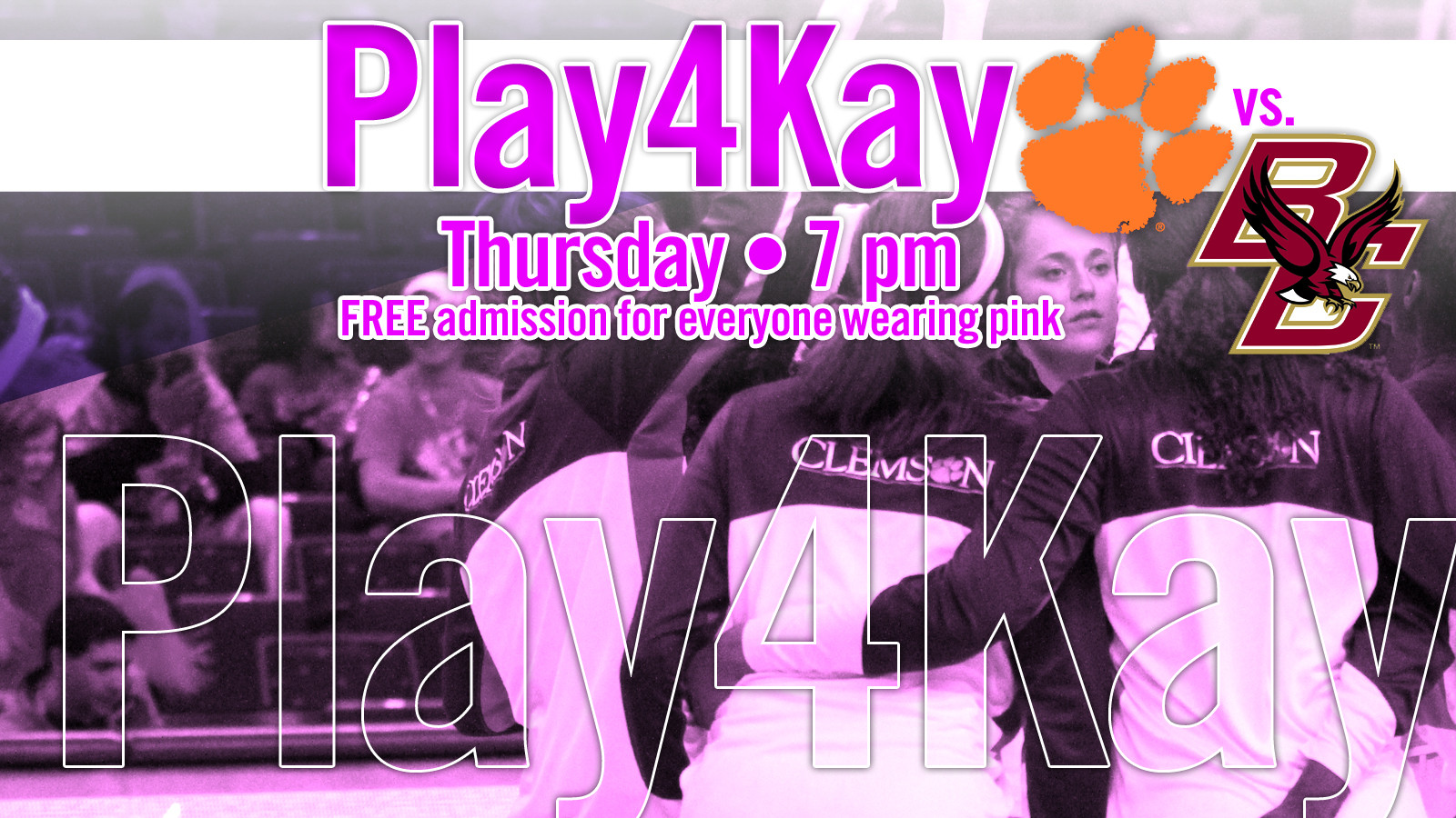 @ClemsonWBB Hosts Boston College in Pink Game Thursday