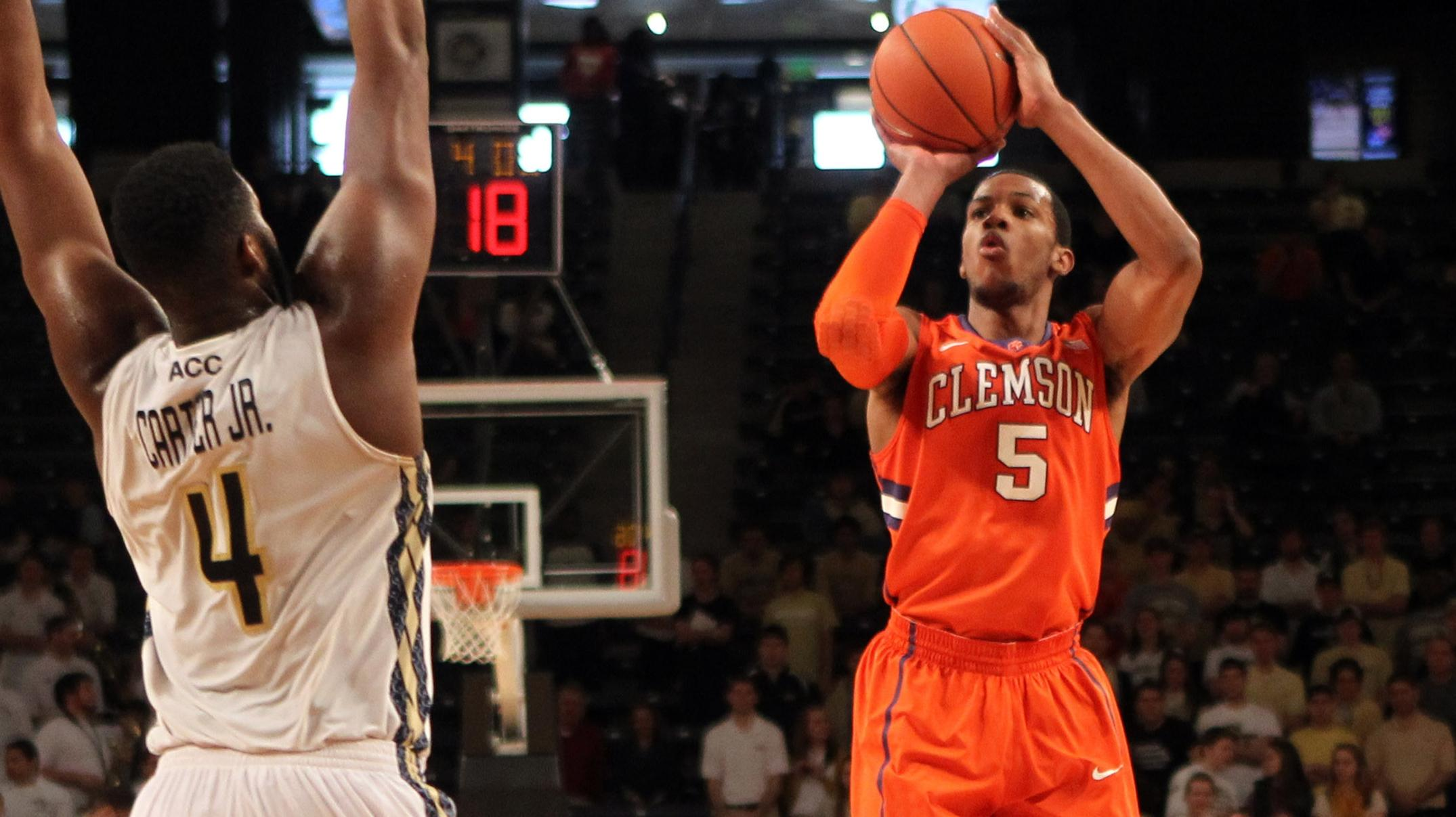 Tigers Host Maryland Sunday at 1 PM