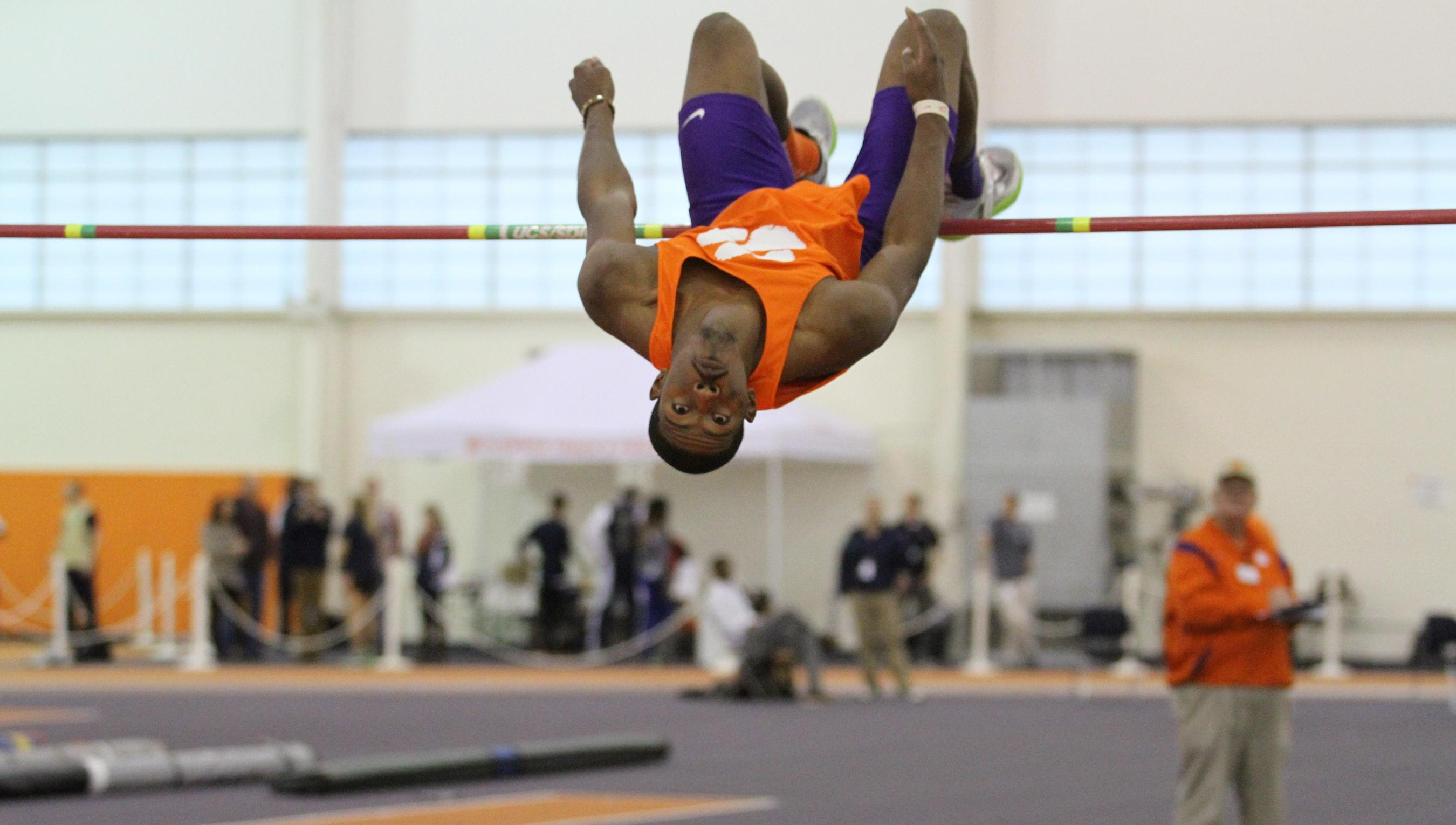 Jumps, Distance Pace Clemson Track & Field at Texas A&M