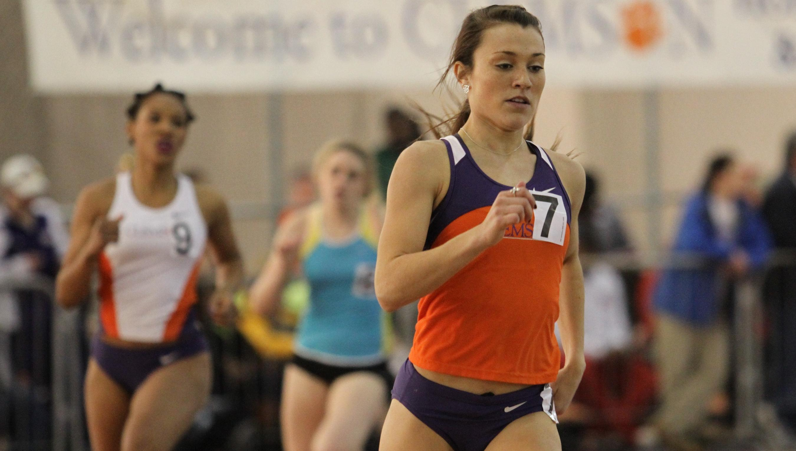 Clemson Finalizes Preparation for ACC Indoor Championships