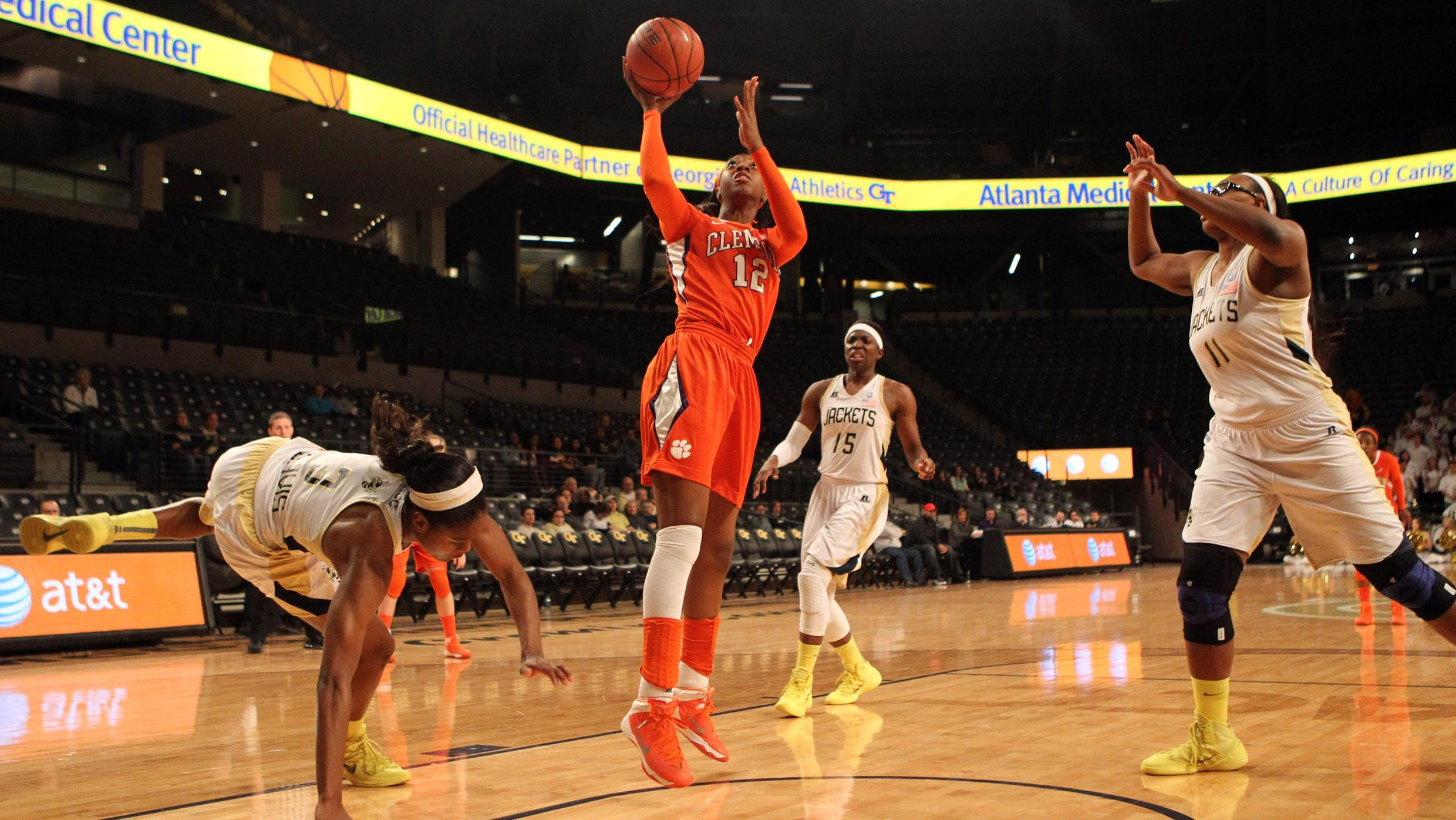 @ClemsonWBB Drops Sunday Contest at Virginia