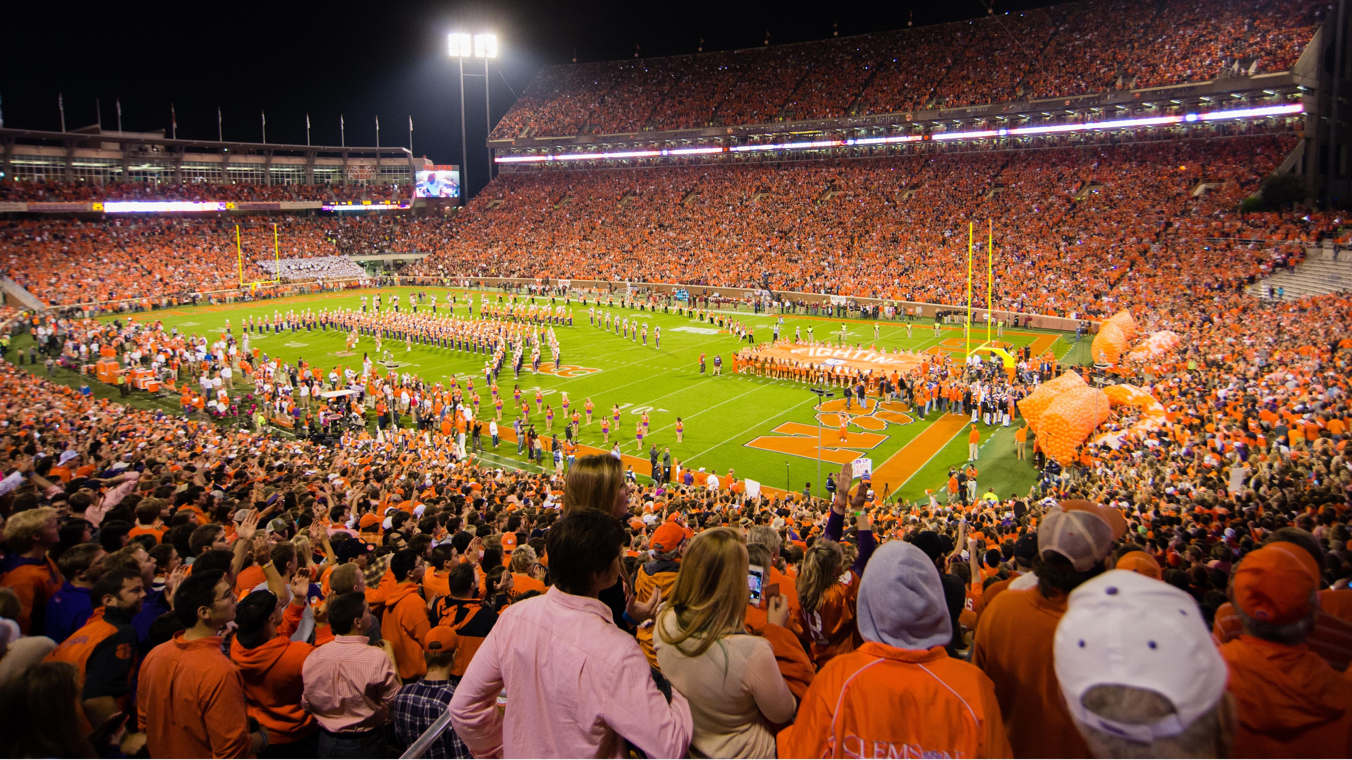 Clemson Establishes Single Season Attendance Record