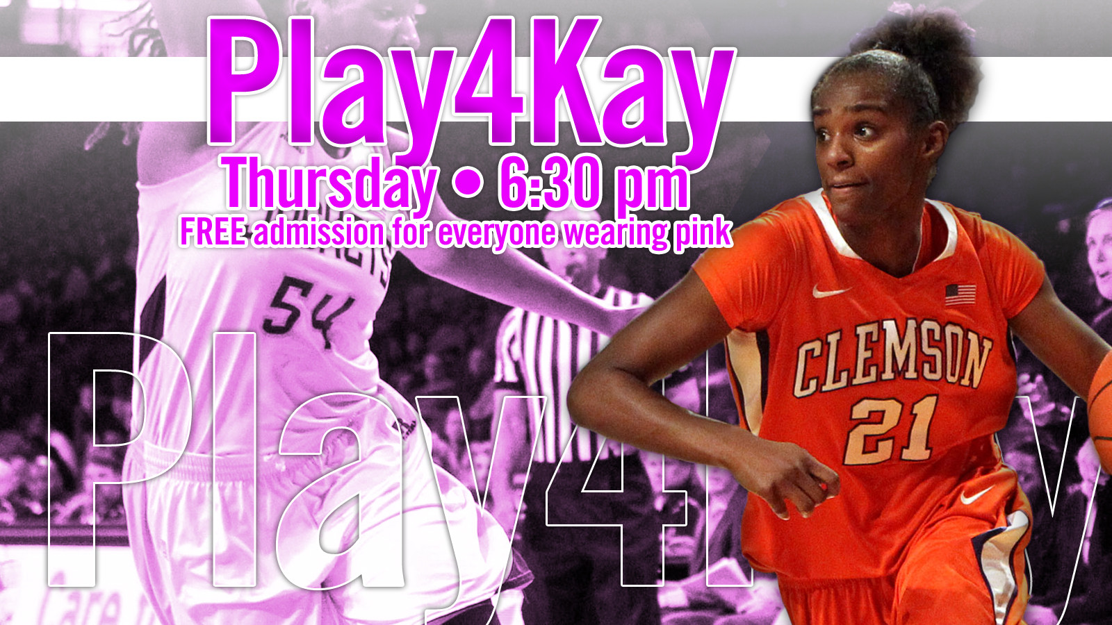 @ClemsonWBB Hosts No. 10/13 NC State in Pink Game Thursday
