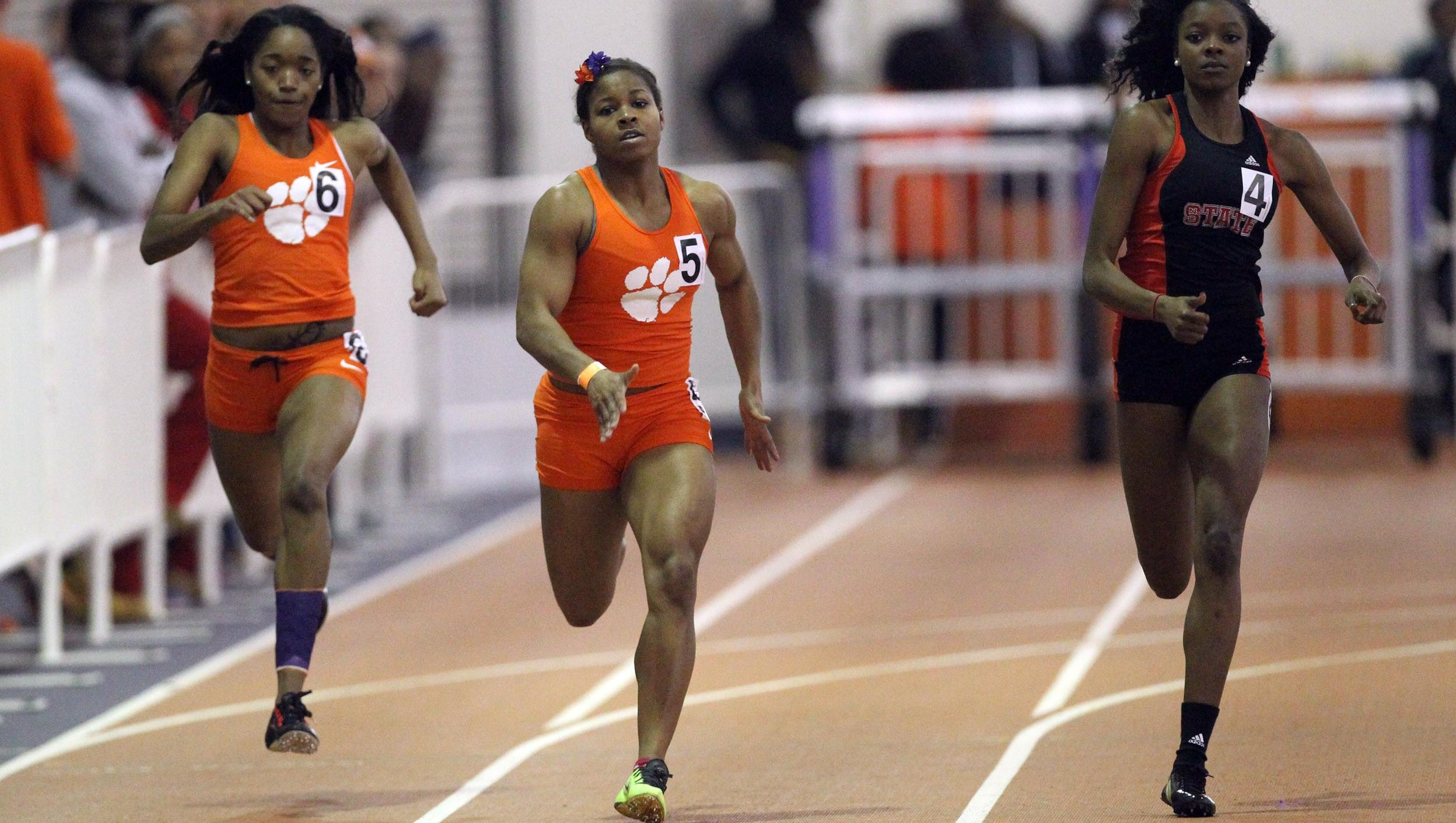 Four Season Bests Friday for Clemson at the Virginia Tech Challenge