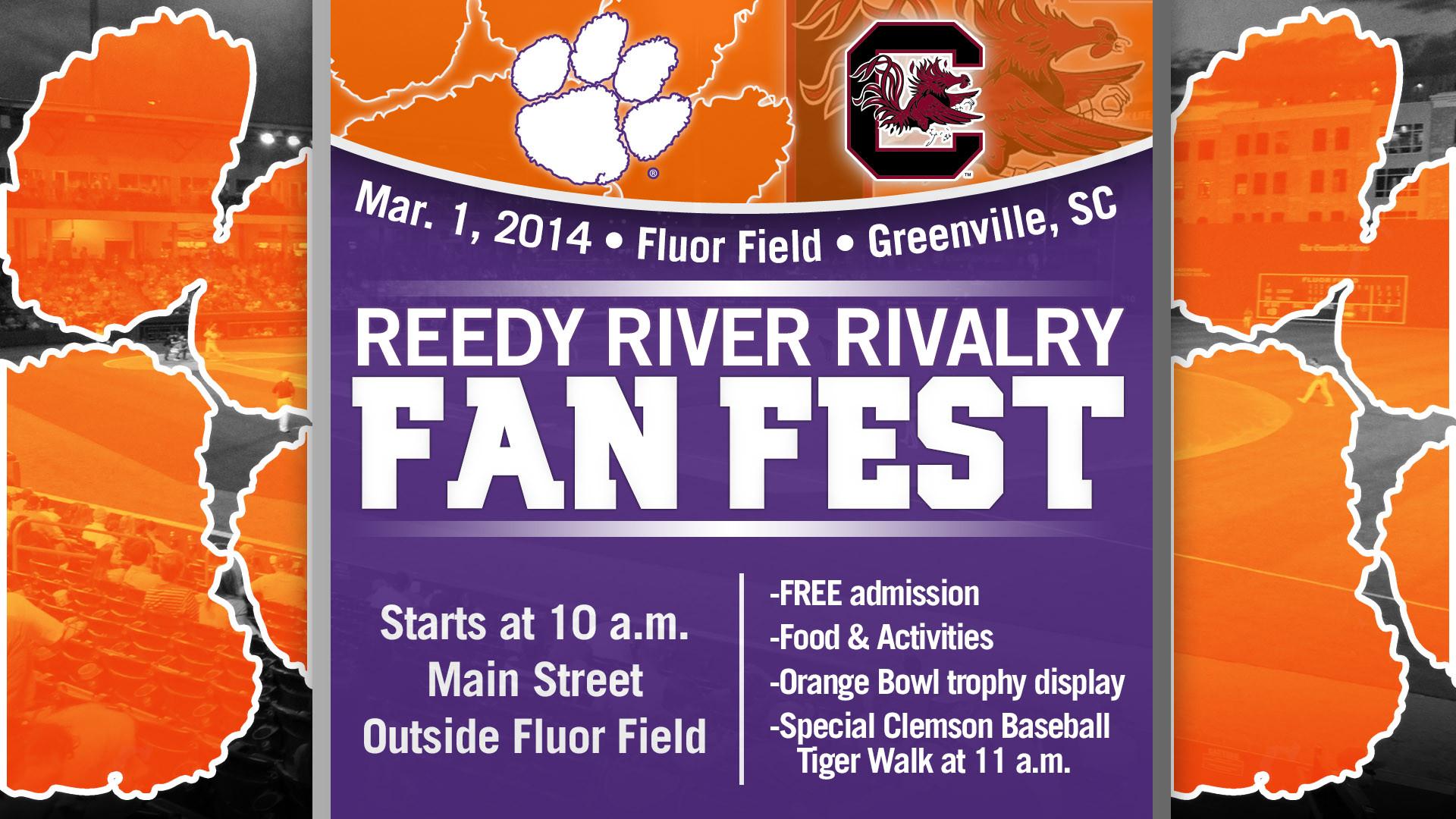 Clemson vs. South Carolina – Greenville Fan Fest