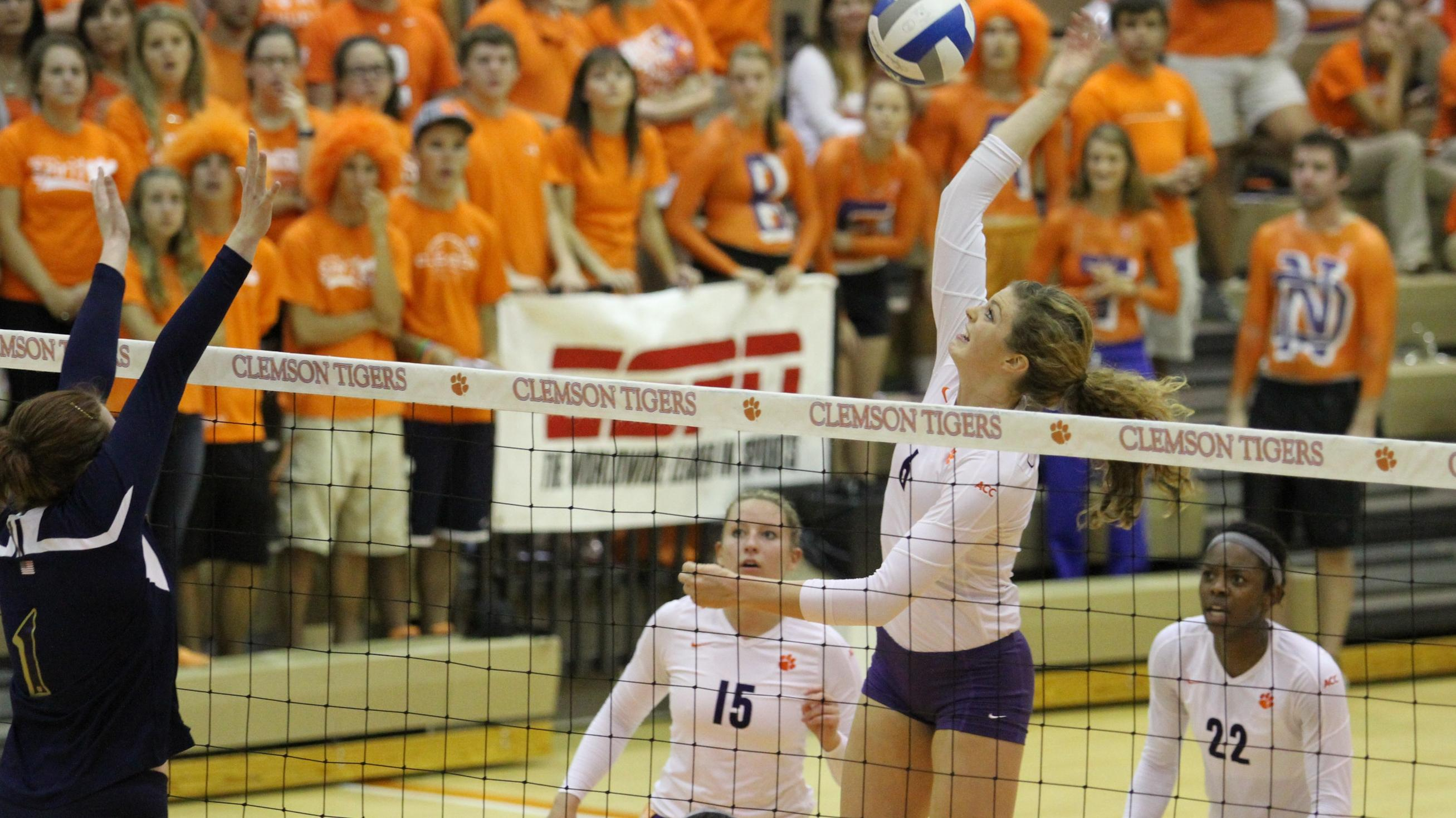 Leah Perri Named to 2013 All-ACC Academic Volleyball Team