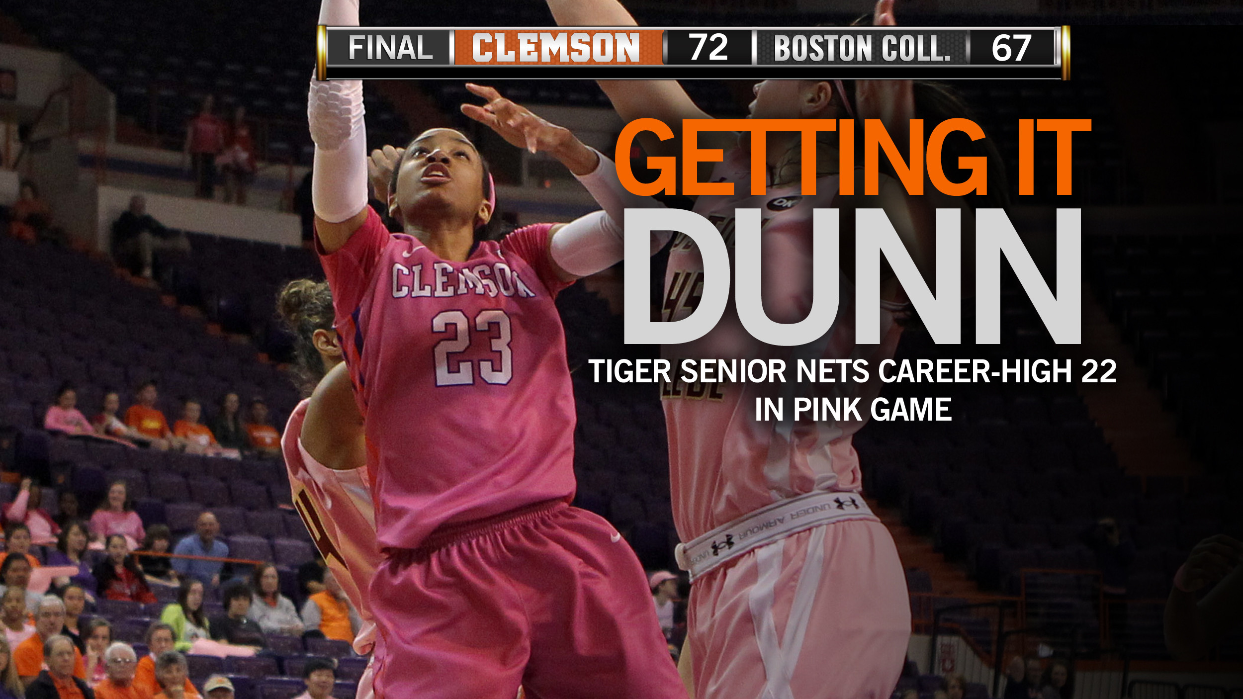 Balanced Attack Leads @ClemsonWBB Past Eagles in Play4Kay Game