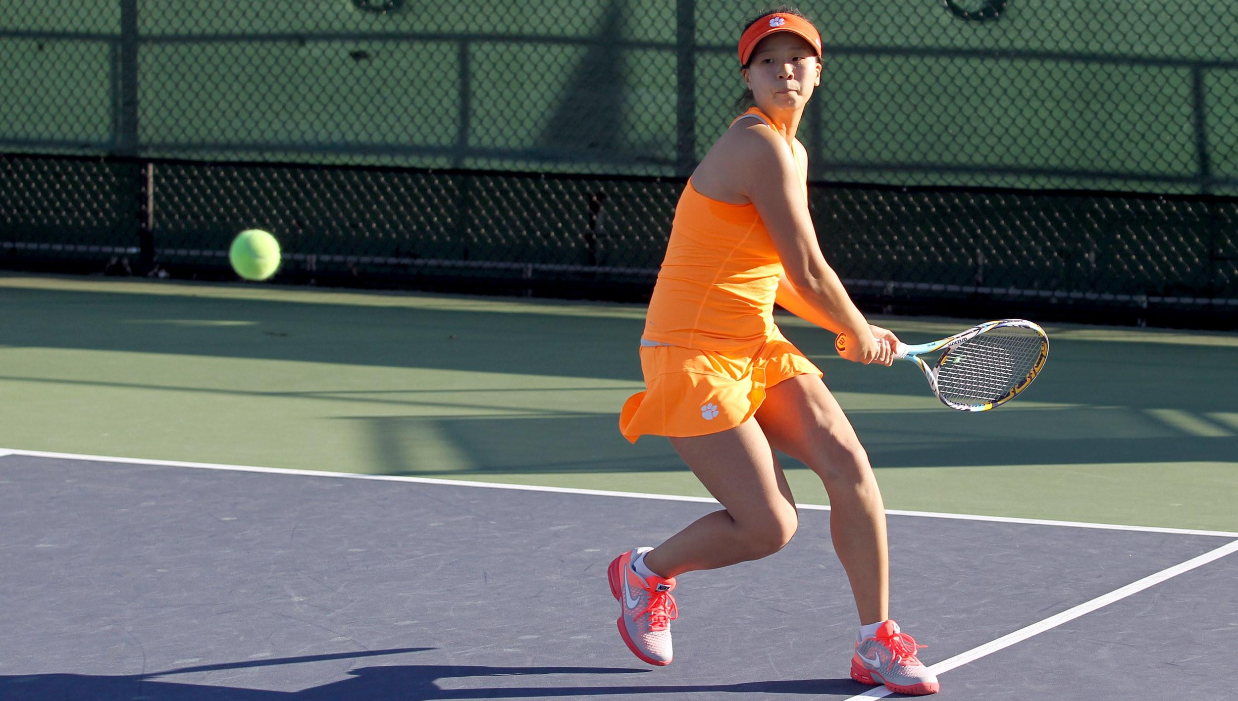 No. 14 Women's Tennis Faces Maryland, UNF This Weekend