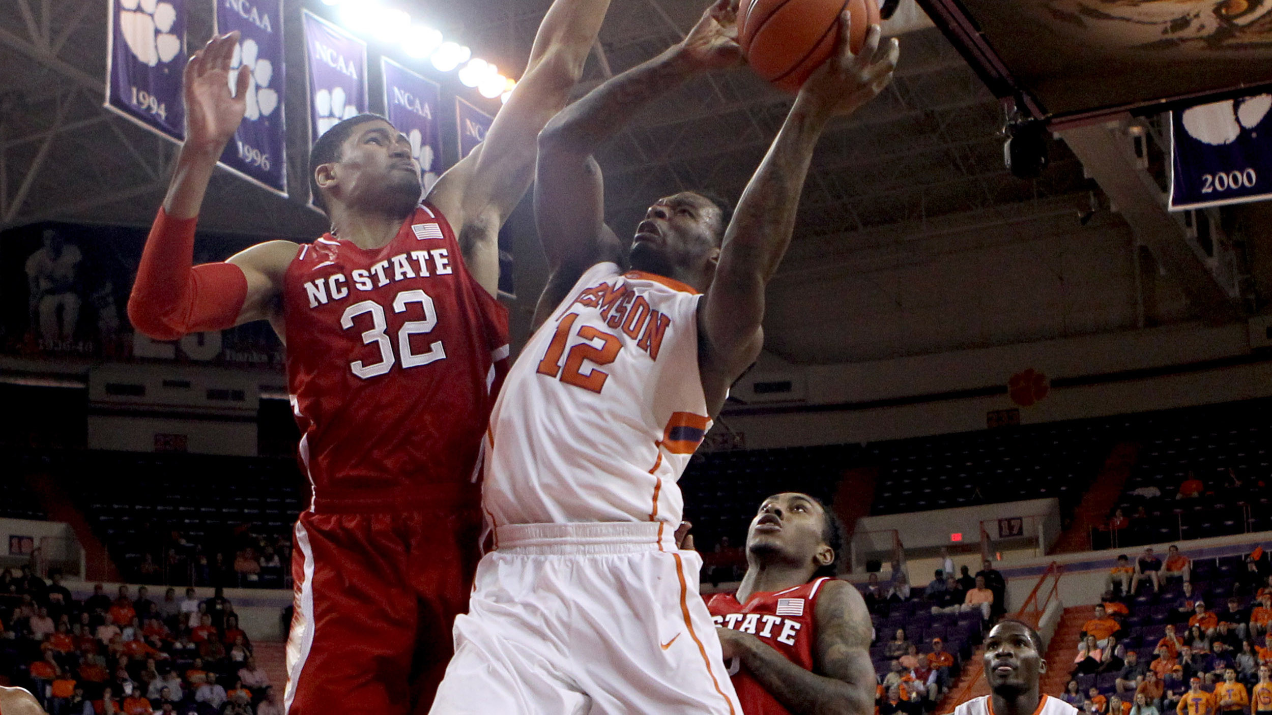 Clemson Snaps Skid with 73-56 Victory over NC State