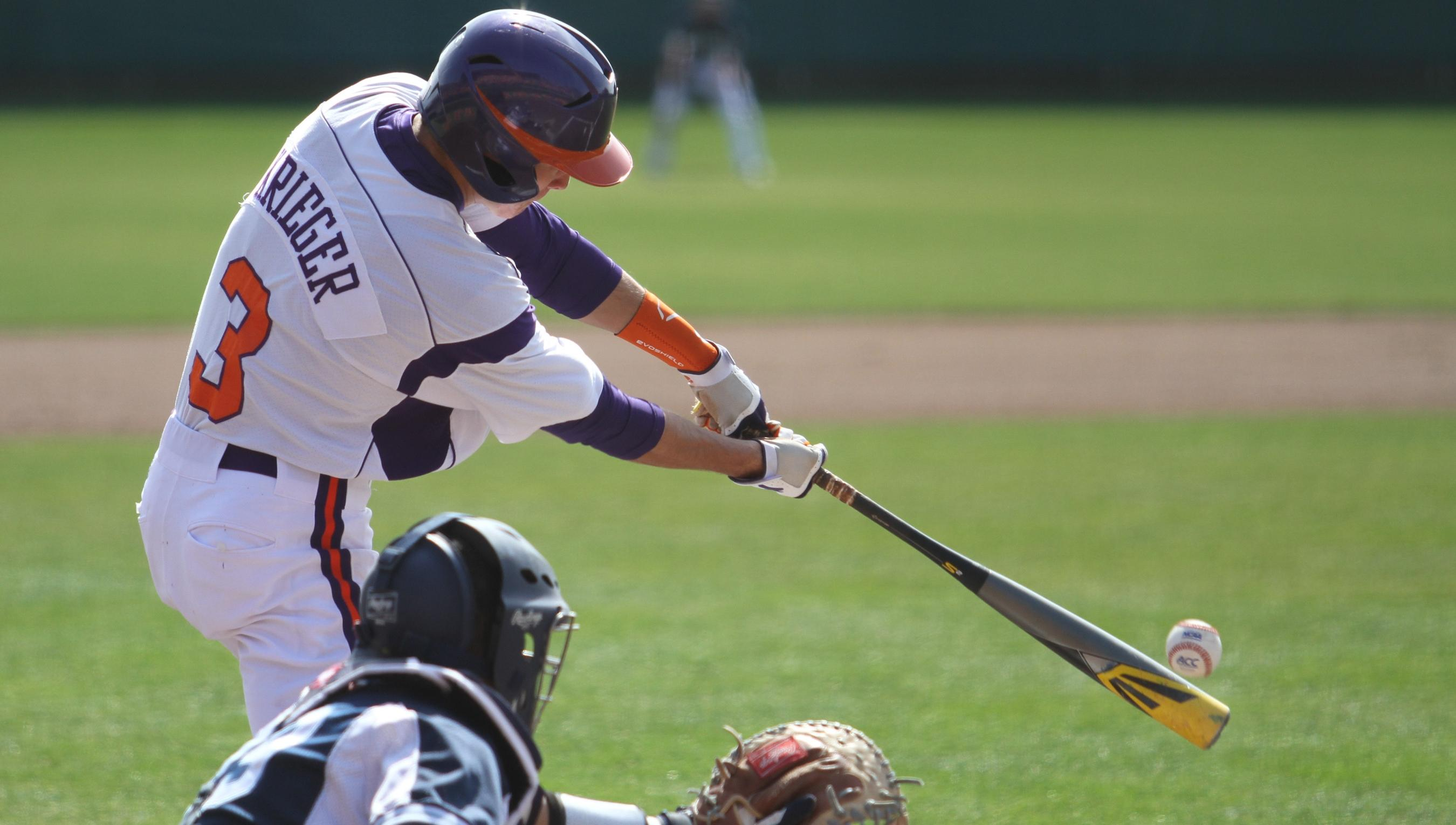 #13 Clemson Completes Sweep of Maine With 10-2 Win Sunday